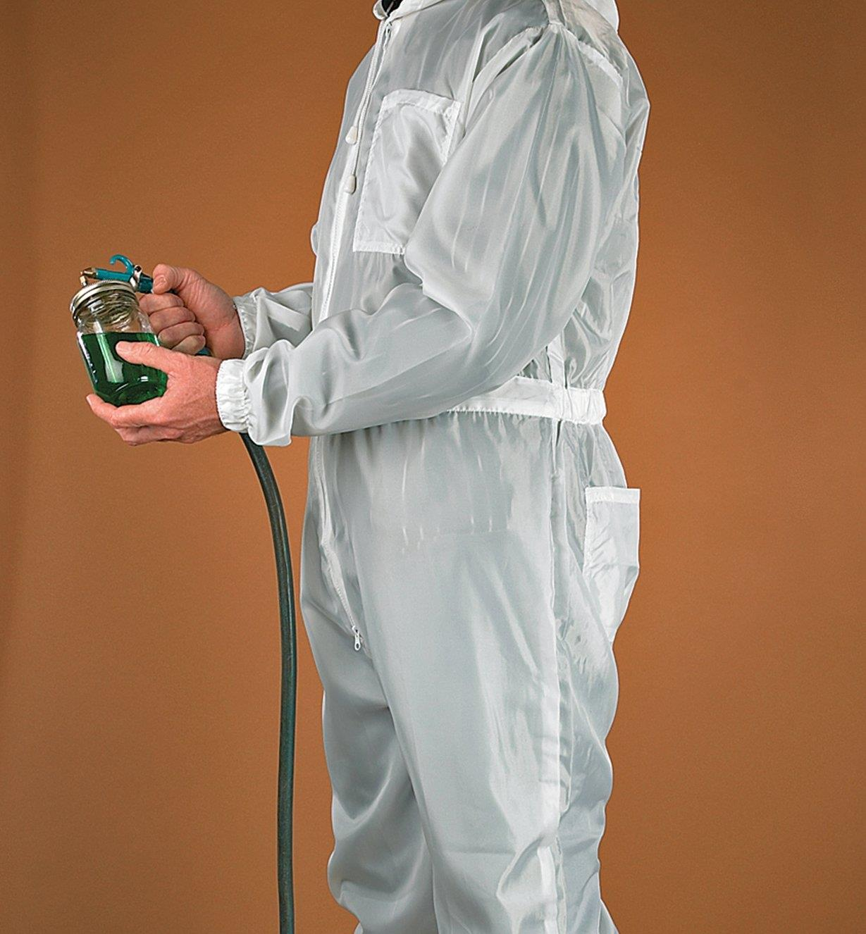 Breathable Polyester Coveralls