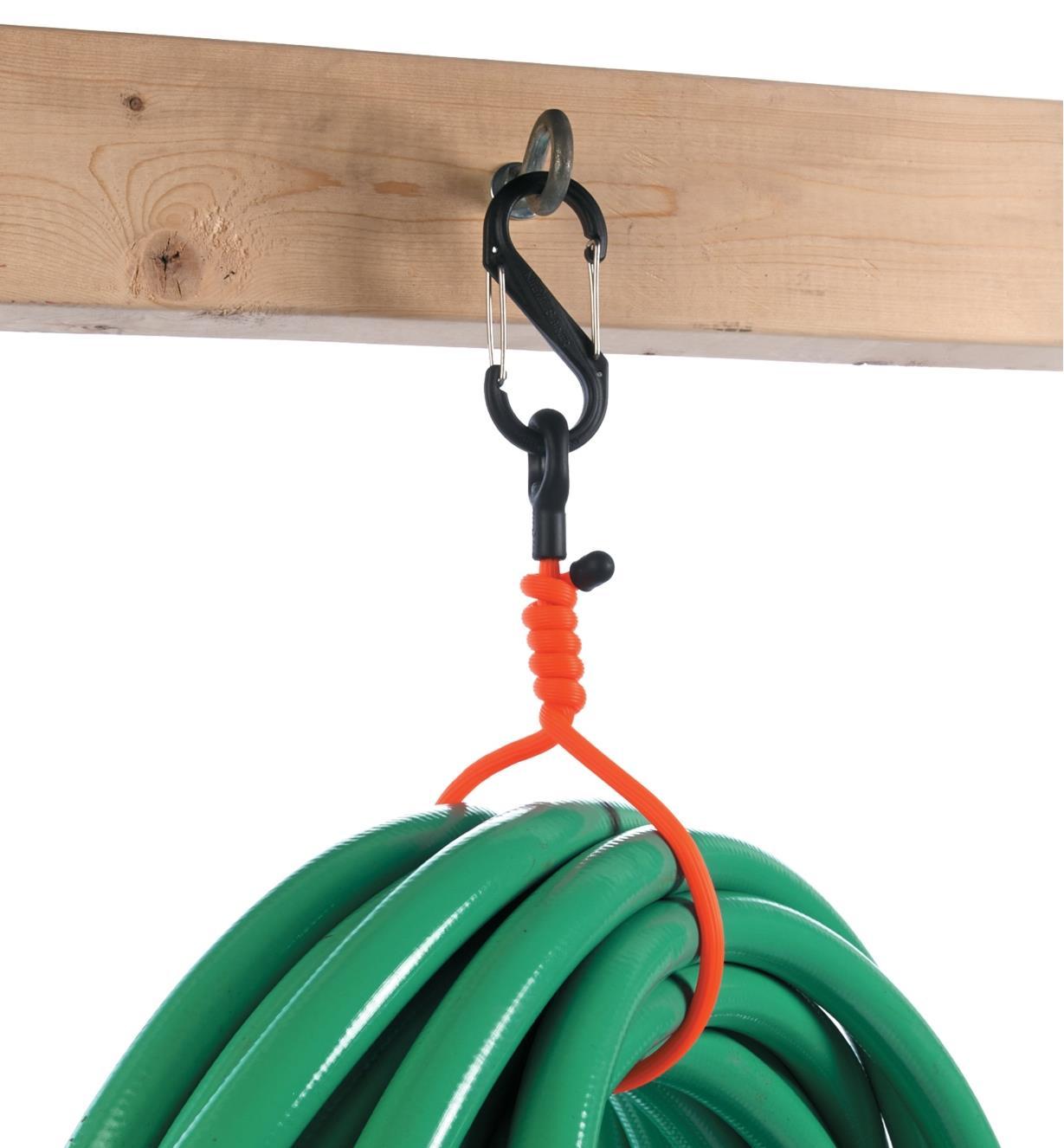 """68K0722 - 24 1/2"""" Orange Clip-Mount GearTie Flexible Tie, each"""