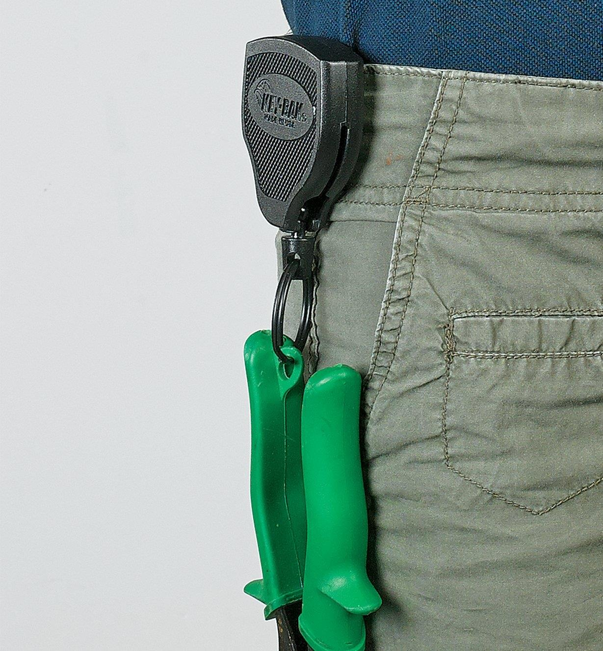 Carabiner and Heavy-Duty Key-Bak Key Rings