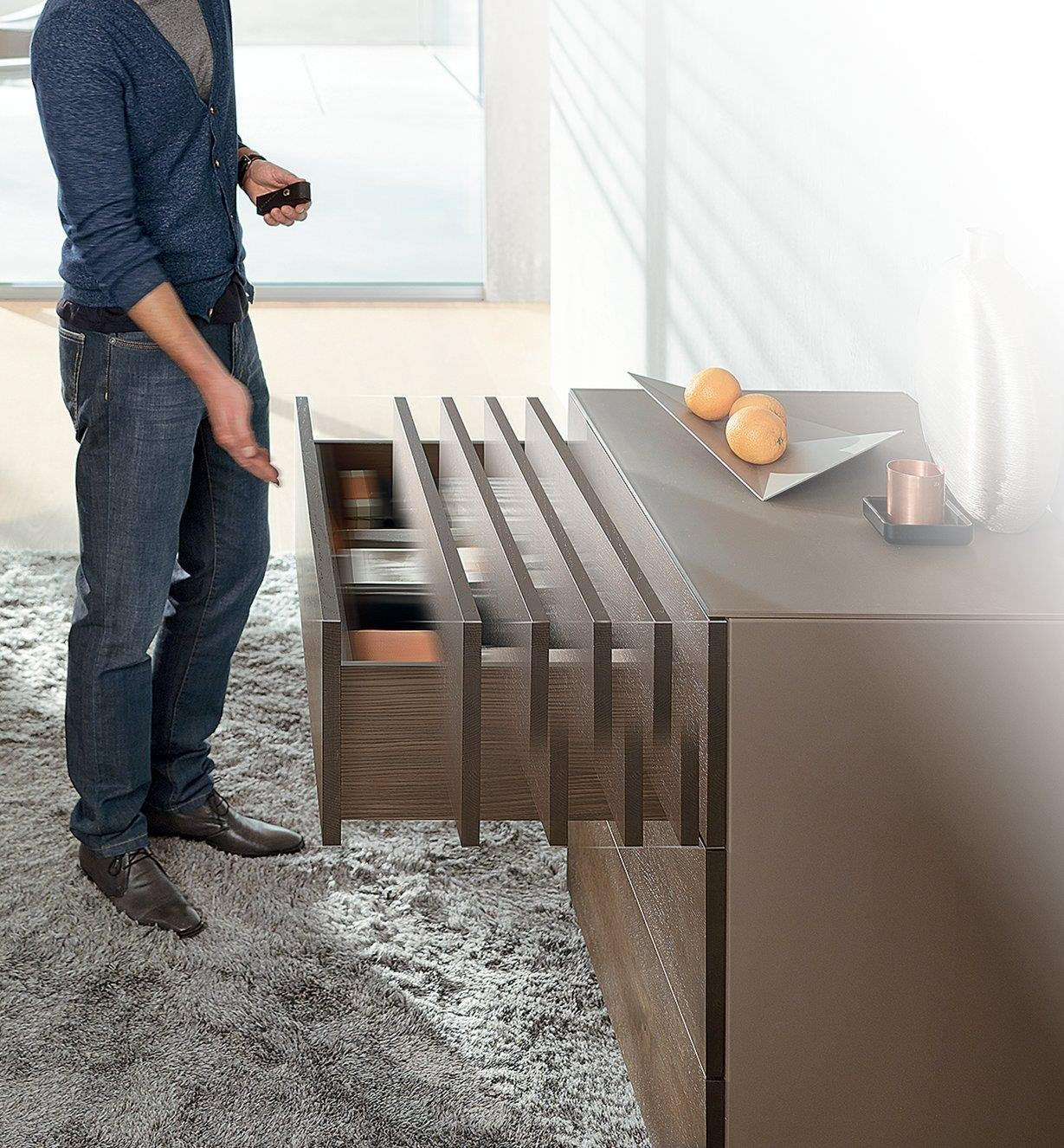 Blum Tip-On Movento Drawer Slides