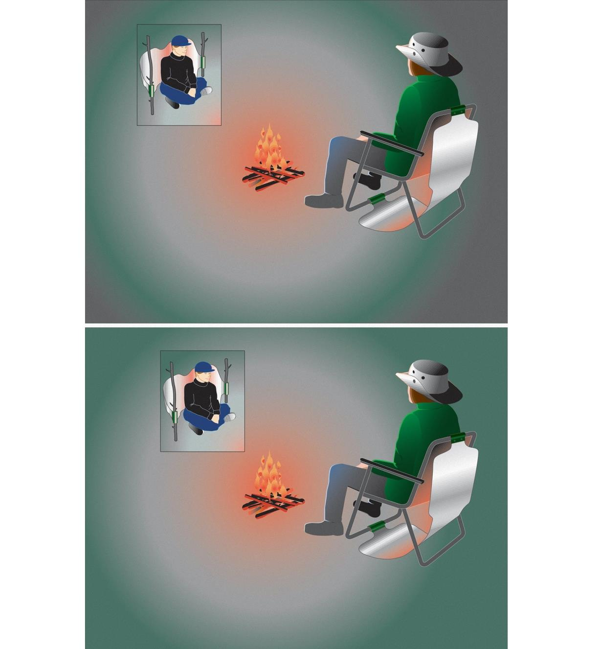 GB110 - Campfire Back Warmer
