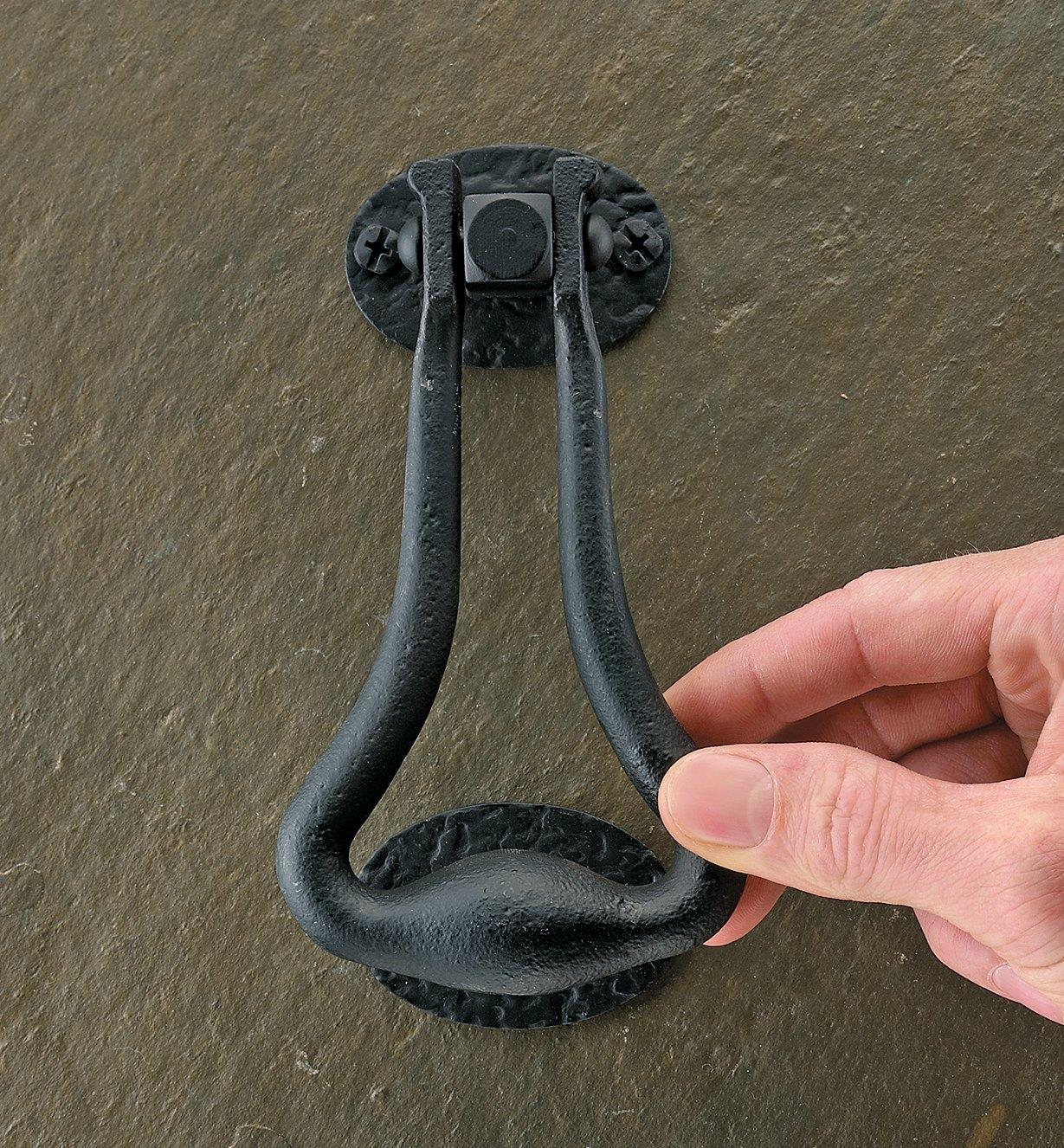00W0820 - Forged-Iron Door Knocker