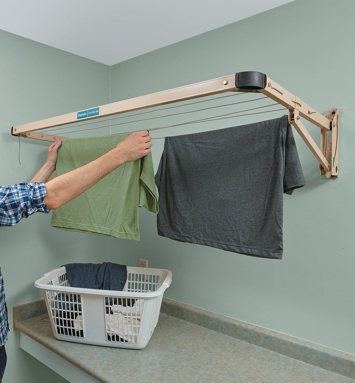 01S1713 - Folding Drying Rack