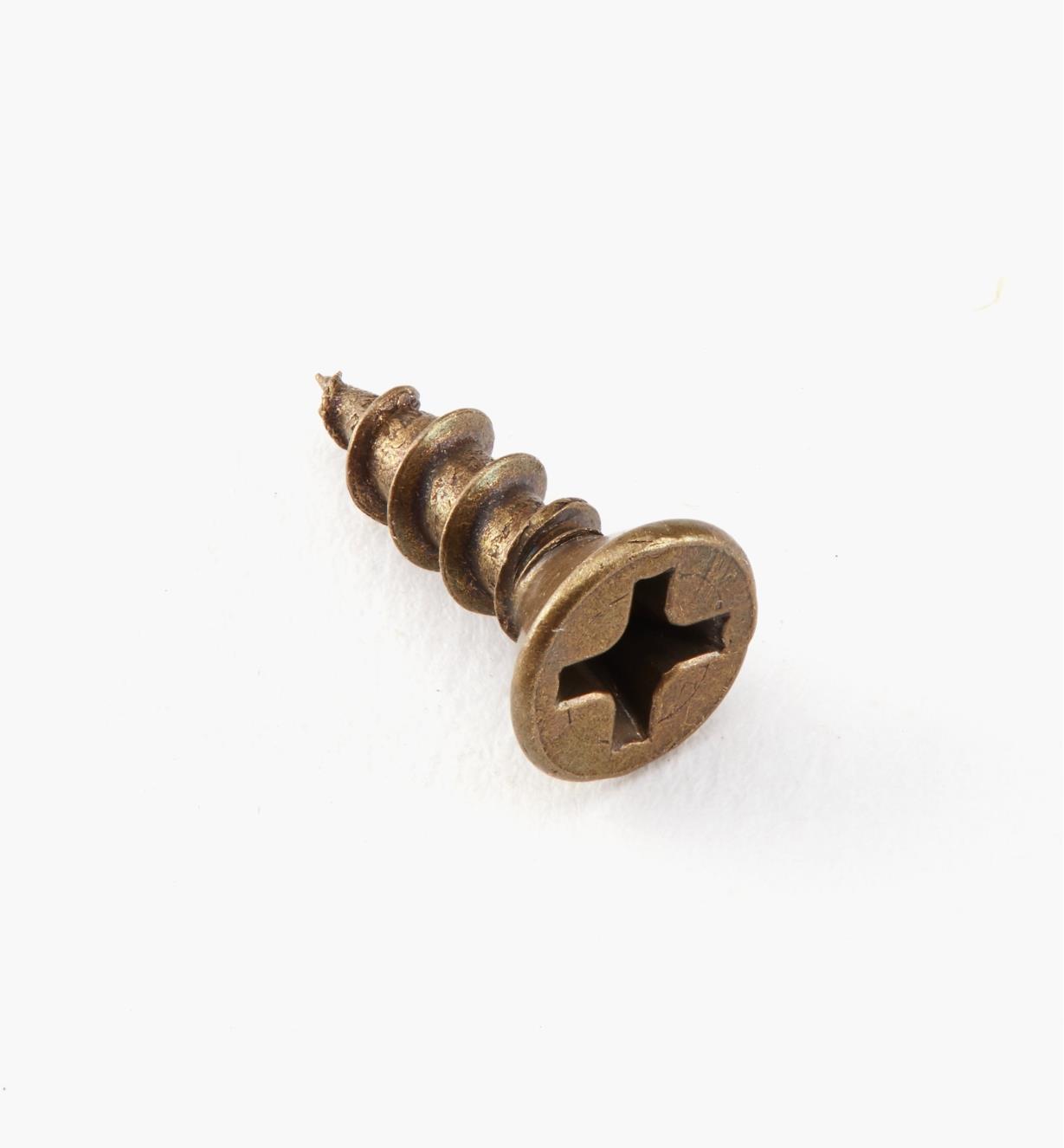 "01Z6304 - #6 × 1/2"" Flat-Head Screws, pkg of 100"