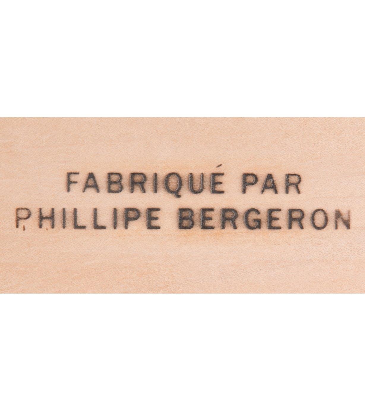 """05N4010 - """"FABRIQUÉ PAR"""" Electric Branding Iron"""