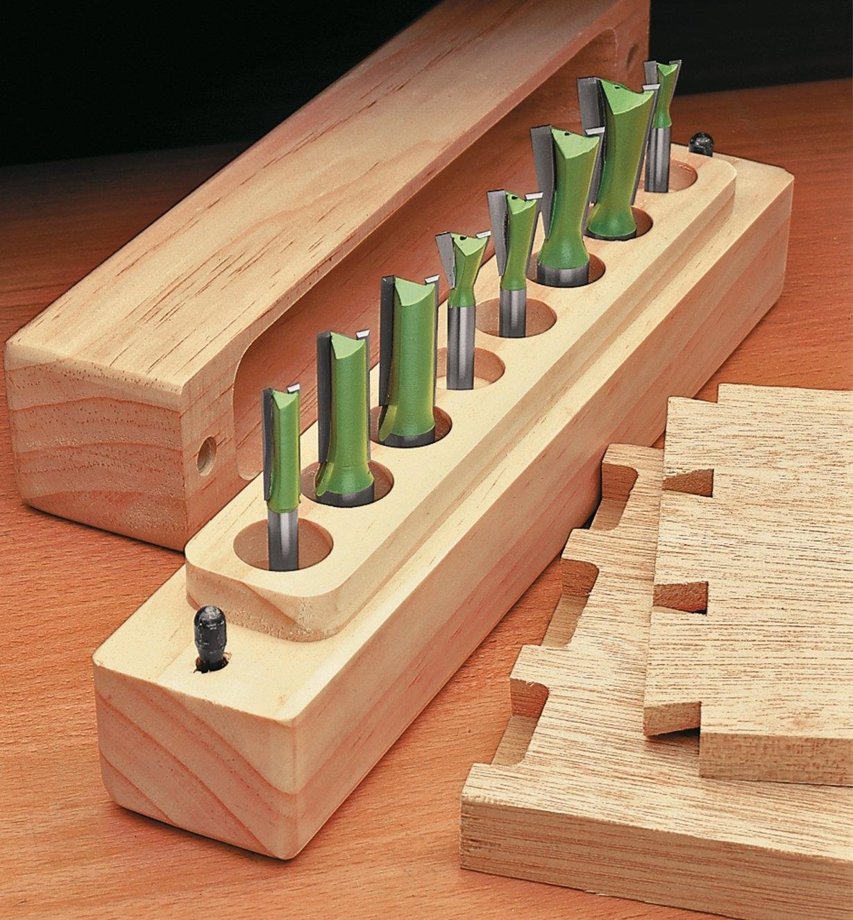 16J0320 - Dovetail Set of 8 for Leigh Jig