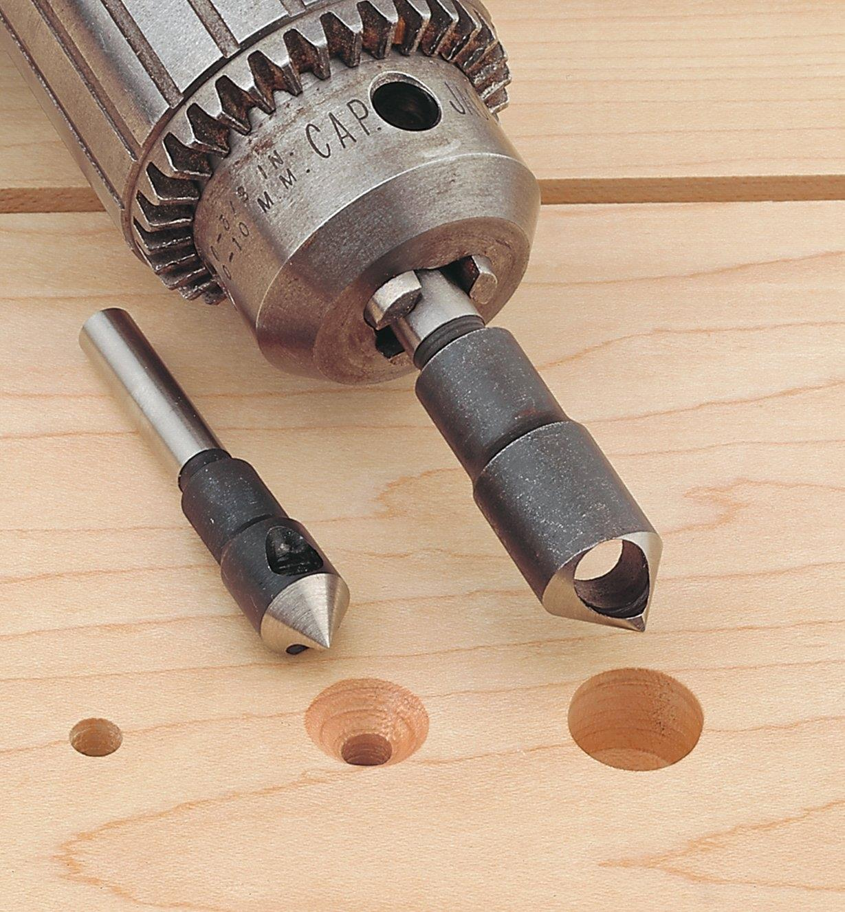 HCS 82° Single-Flute Countersinks