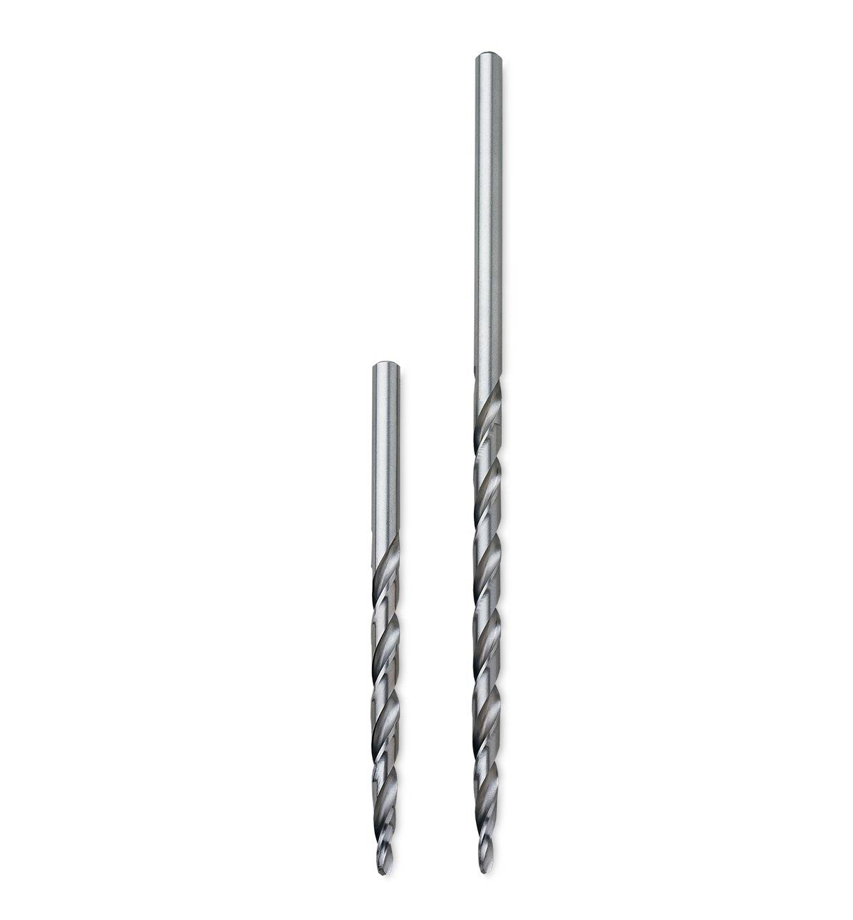 Extra-Long Taper-Point Drill Bits
