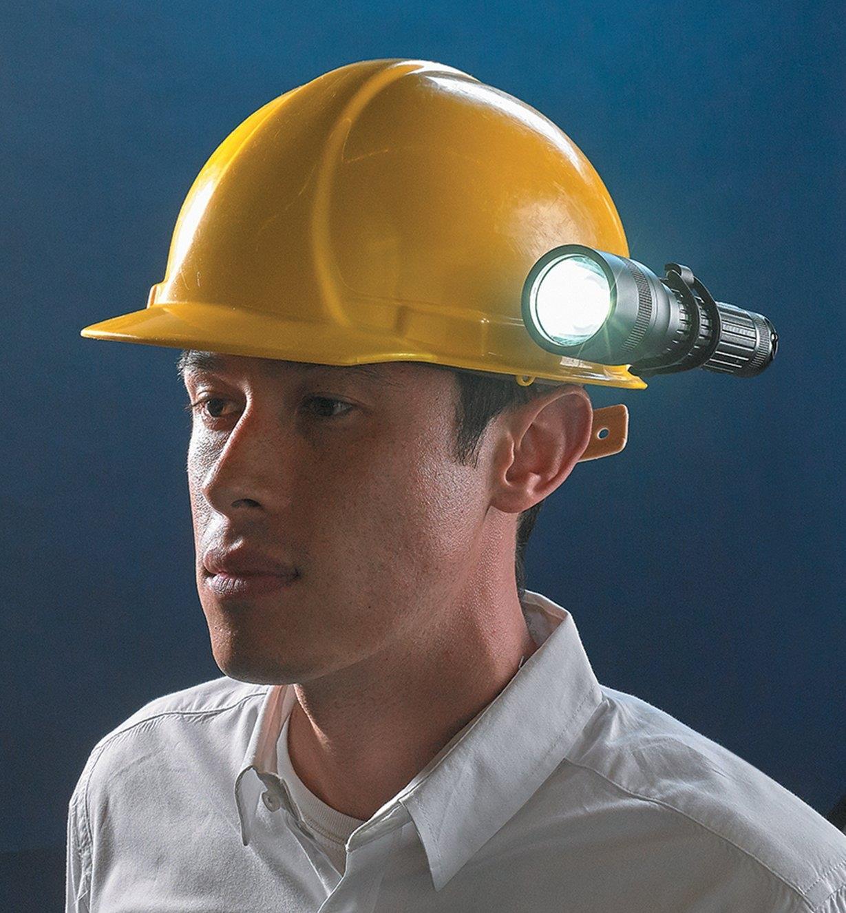 45K1980 - Hard-hat Mount for Suprabeam Q7 Flashlights