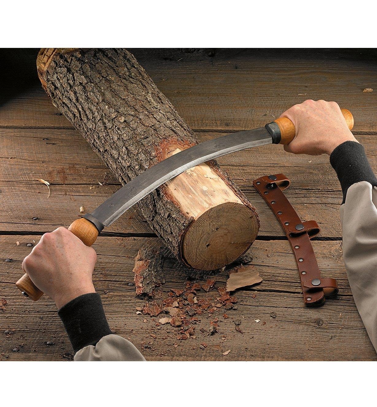 48U0565 - Gränsfors Drawknife