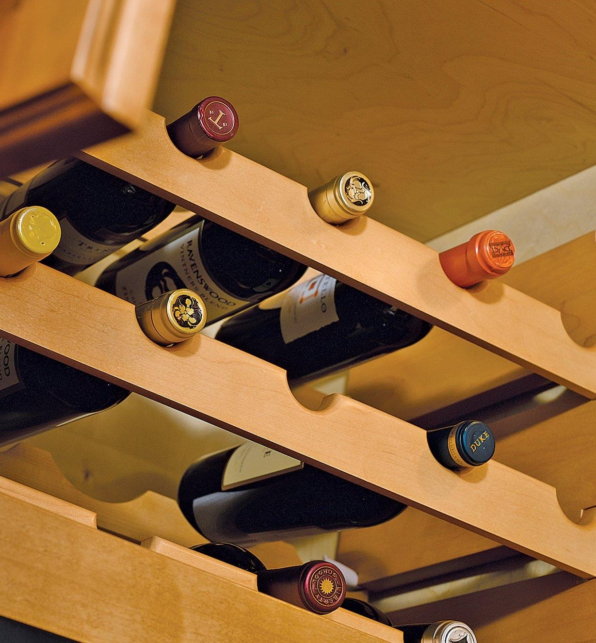 Hardwood Wine Racks