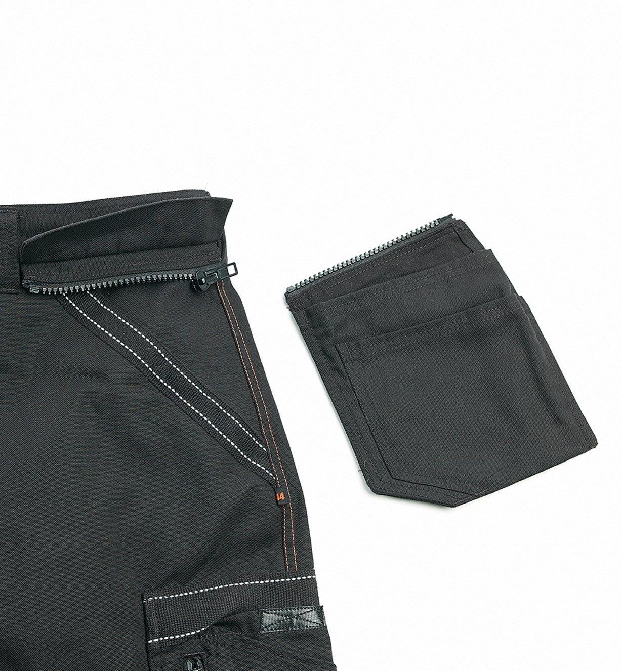 "68K4941B - 30"" Black Heavyweight Pants"