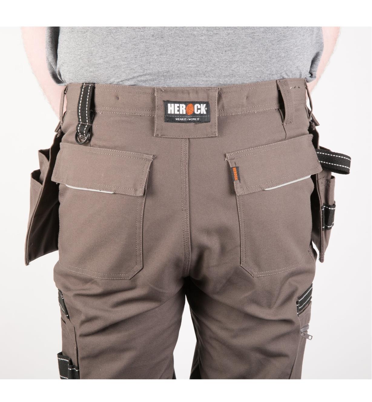 "68K4941G - 30"" Gray Heavyweight Pants"