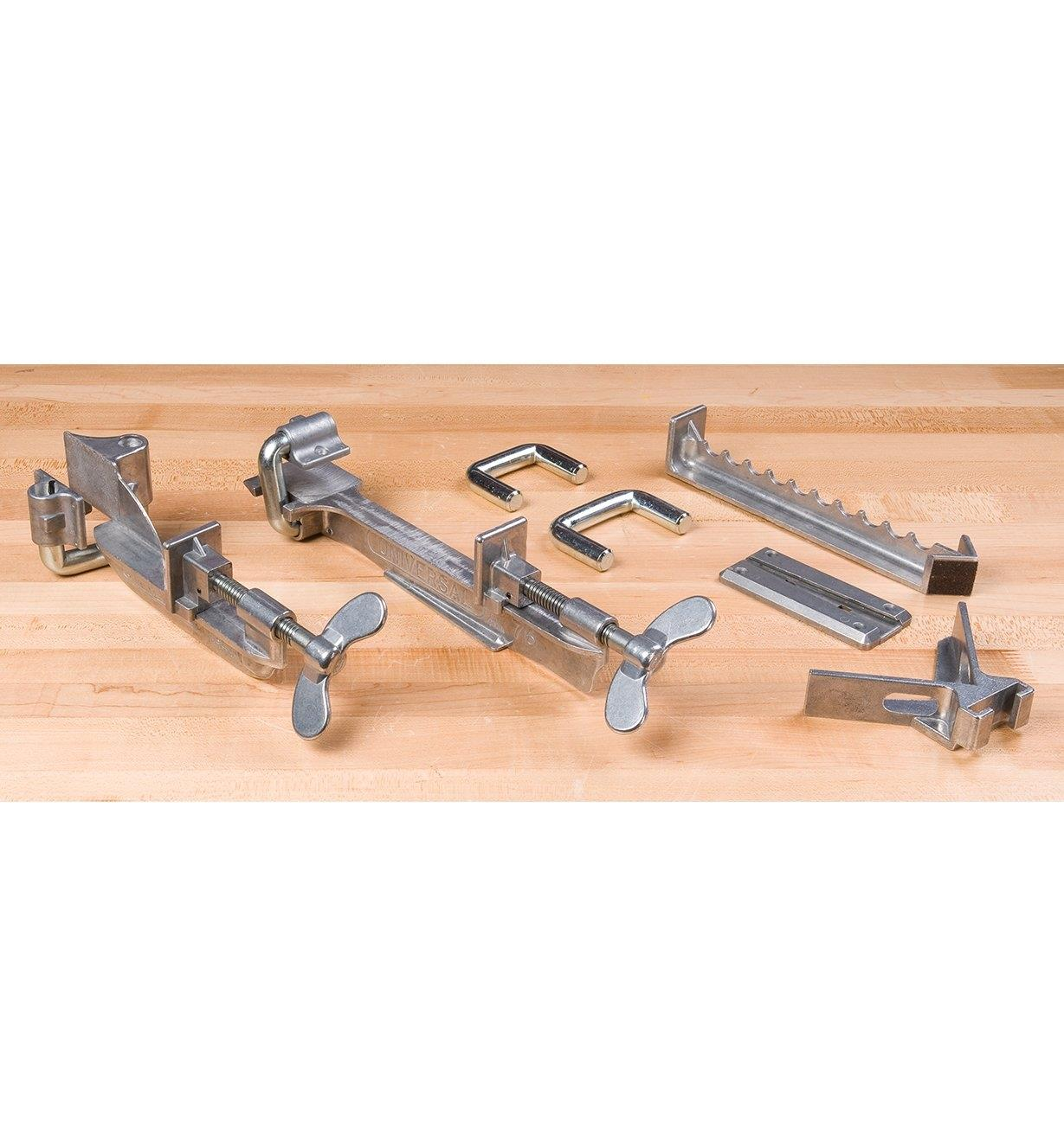 Dubuque Face-Frame & Shelf Clamps
