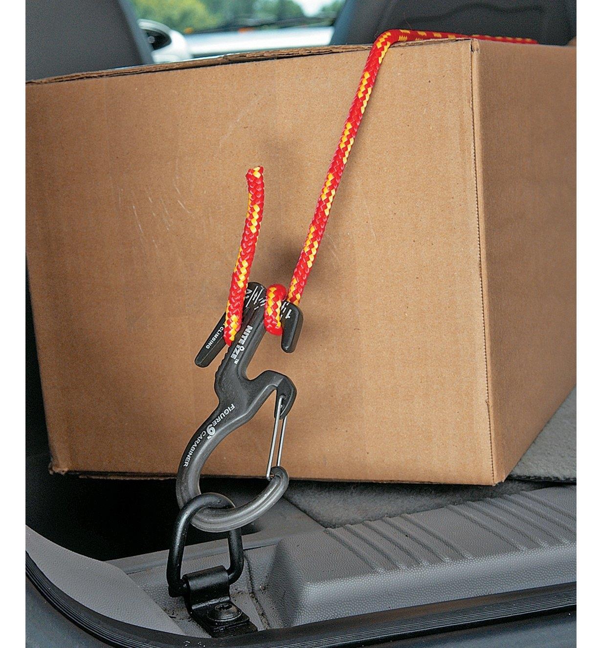 99K6962 - Mousqueton Figure9 avec corde