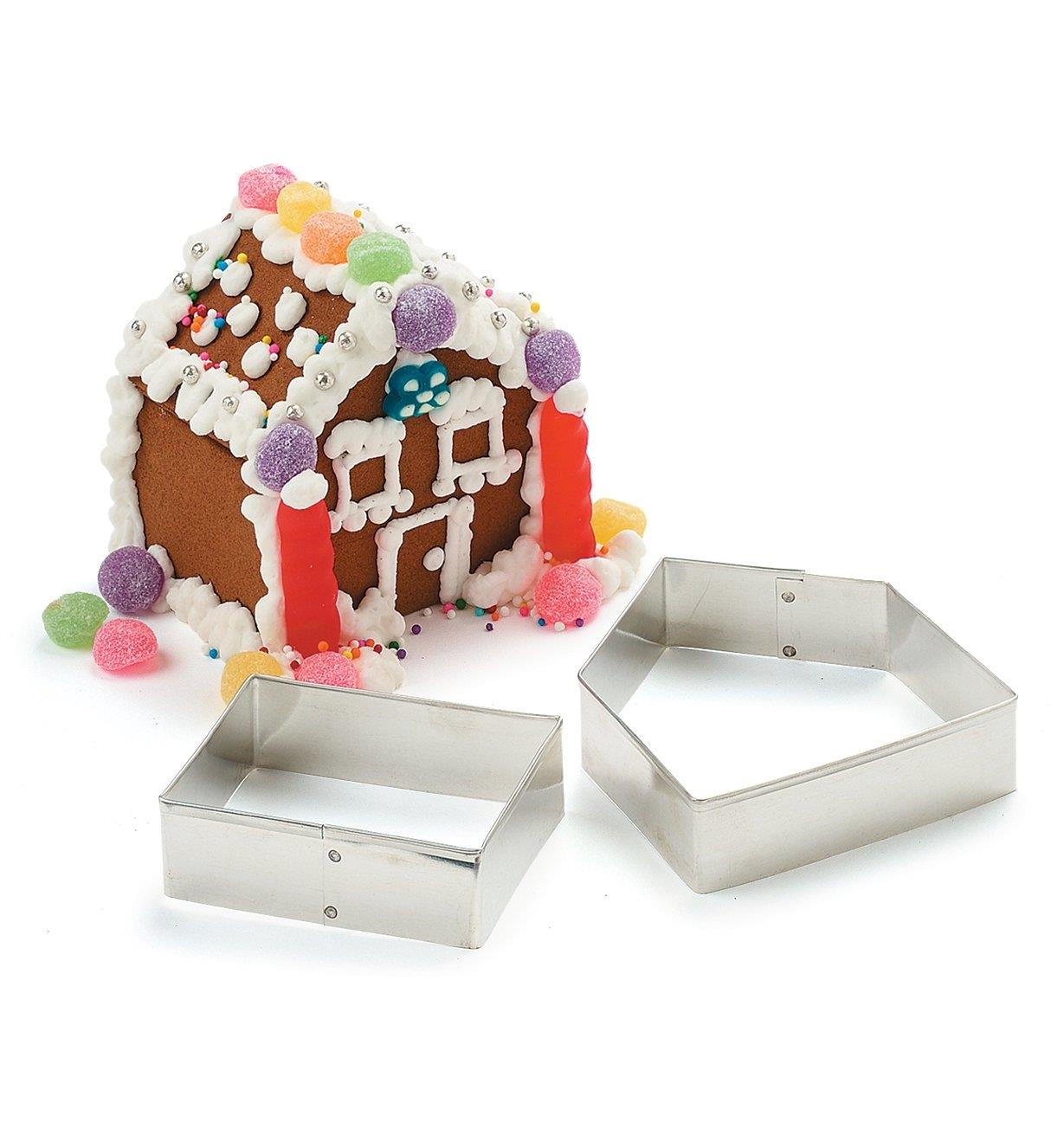 KC302 - Gingerbread House Cookie Cutter Set