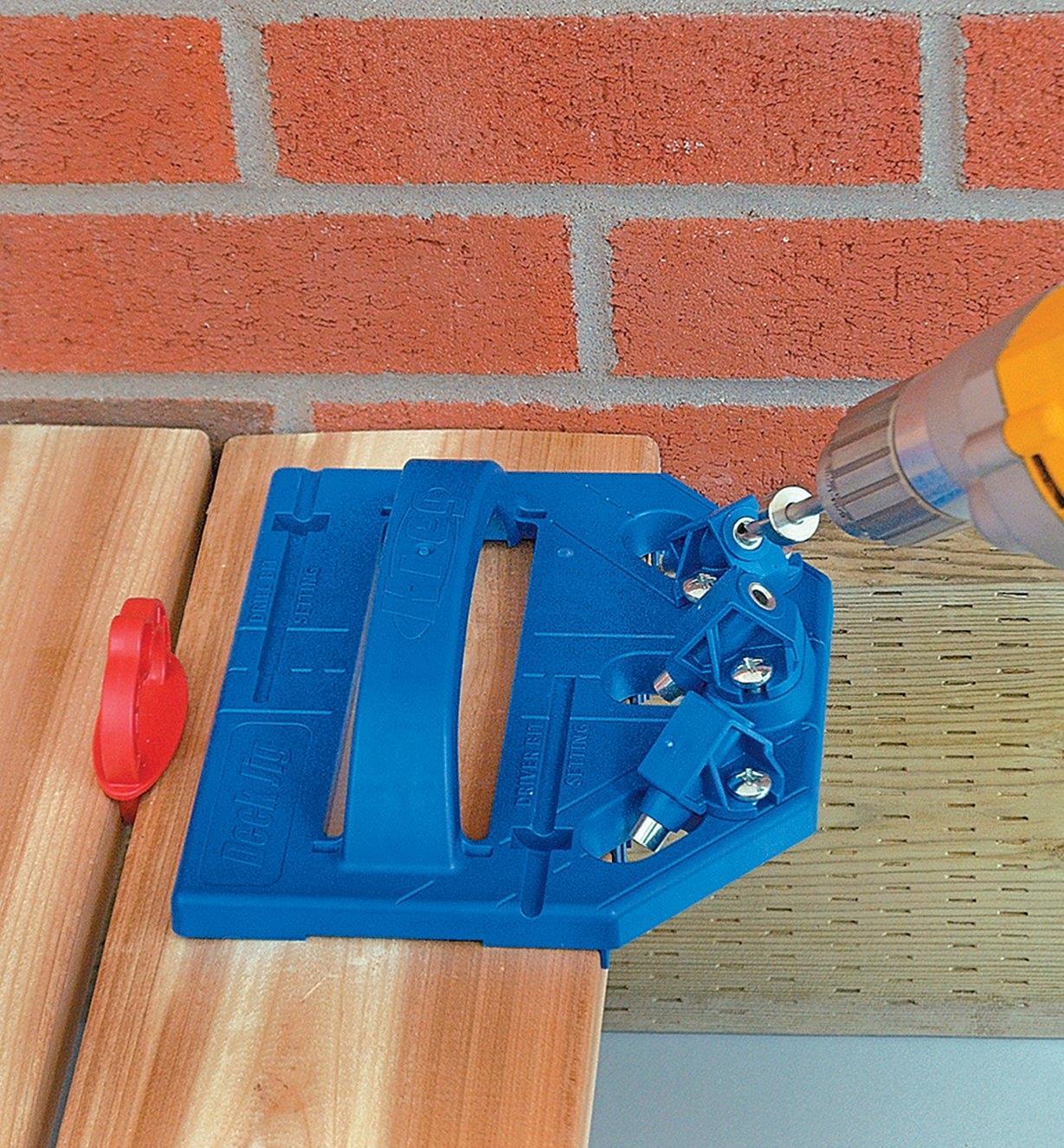 25K6080 - Ensemble Kreg pour terrasse