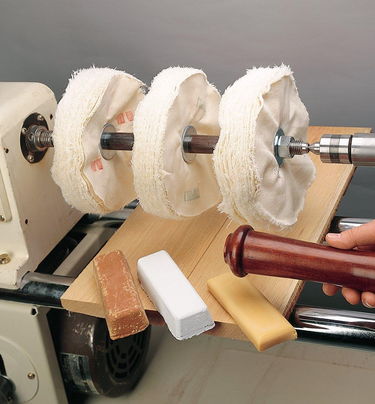 Lathe Mount Buffing System