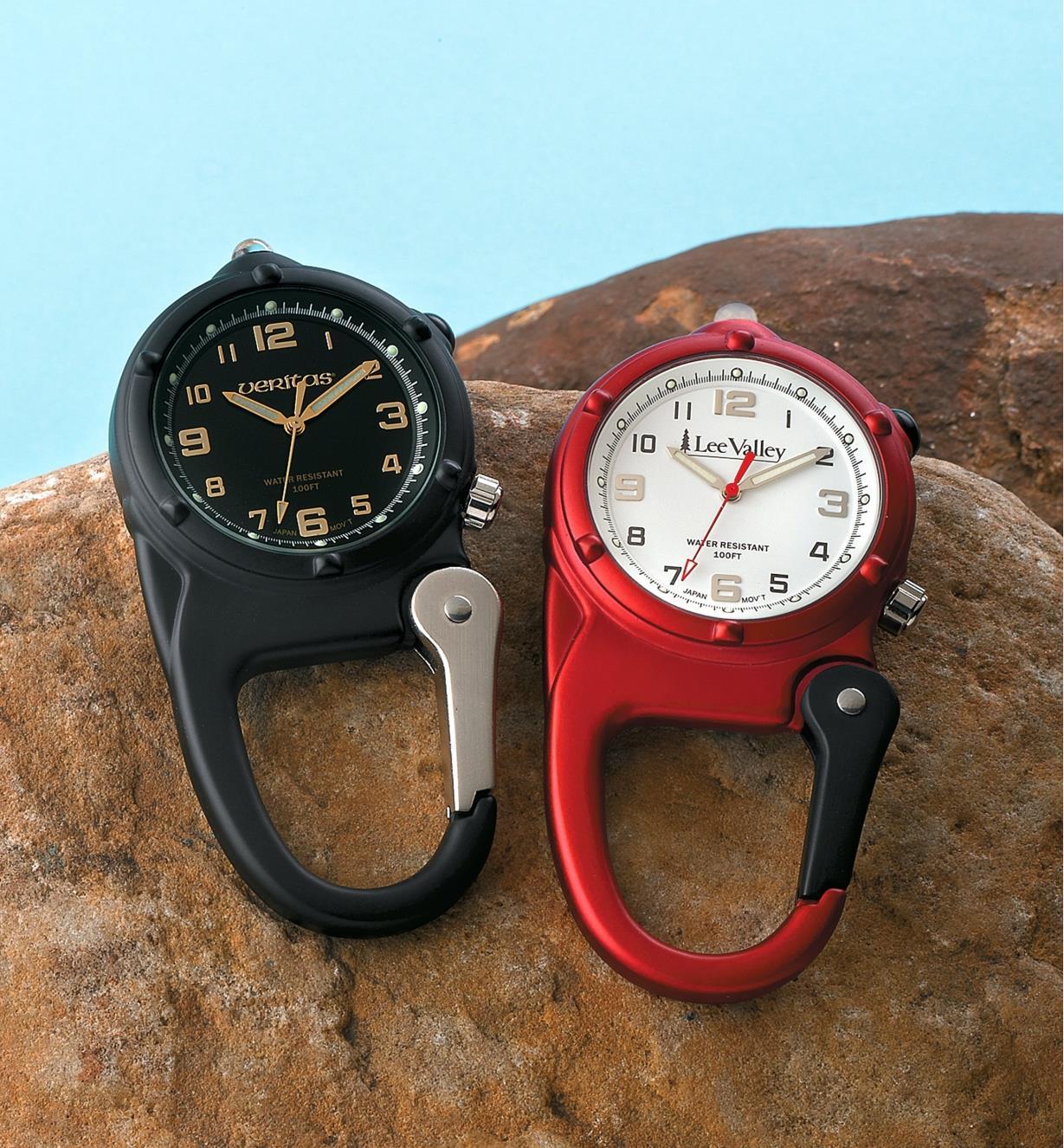 Lee Valley & Veritas Carabiner Watches