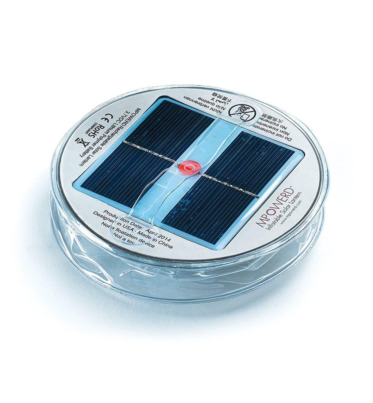 Lanternes solaires gonflables Luci
