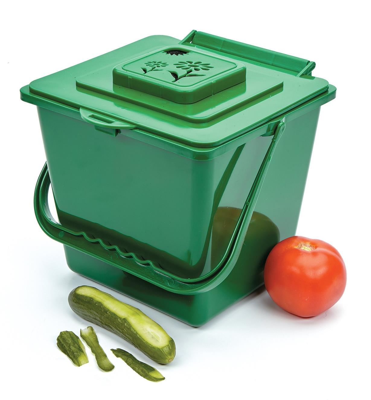 XG227 - Bac à compost de cuisine, 4L