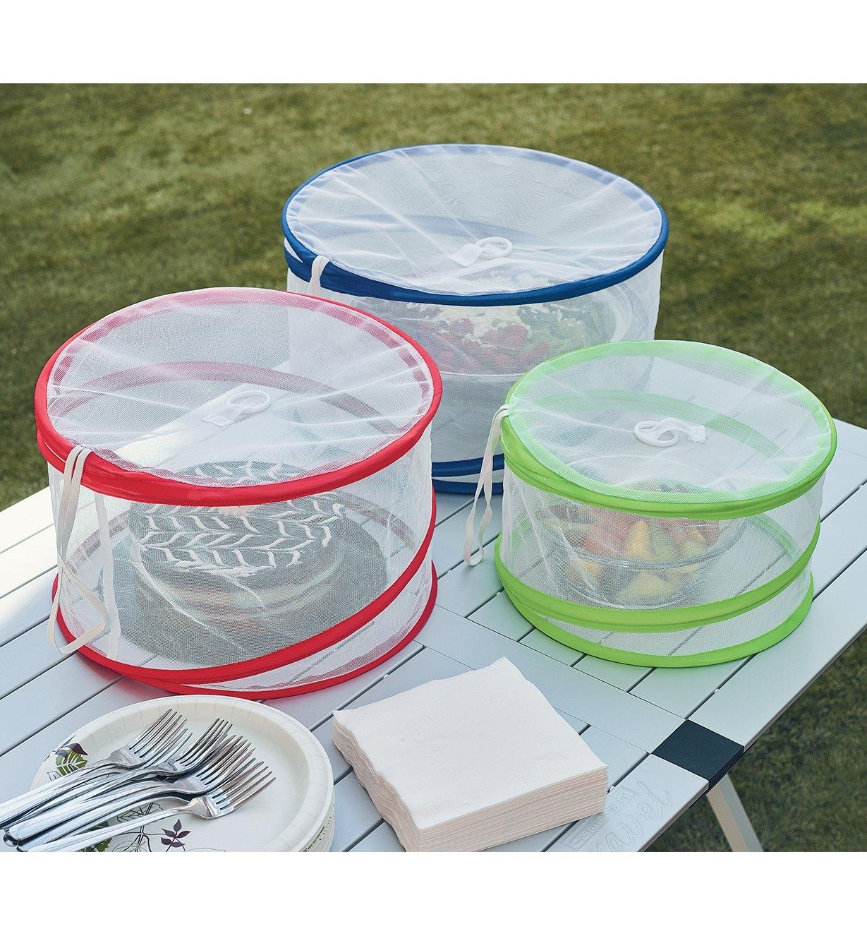 09A0438 - Pop-Up Food Cover Set