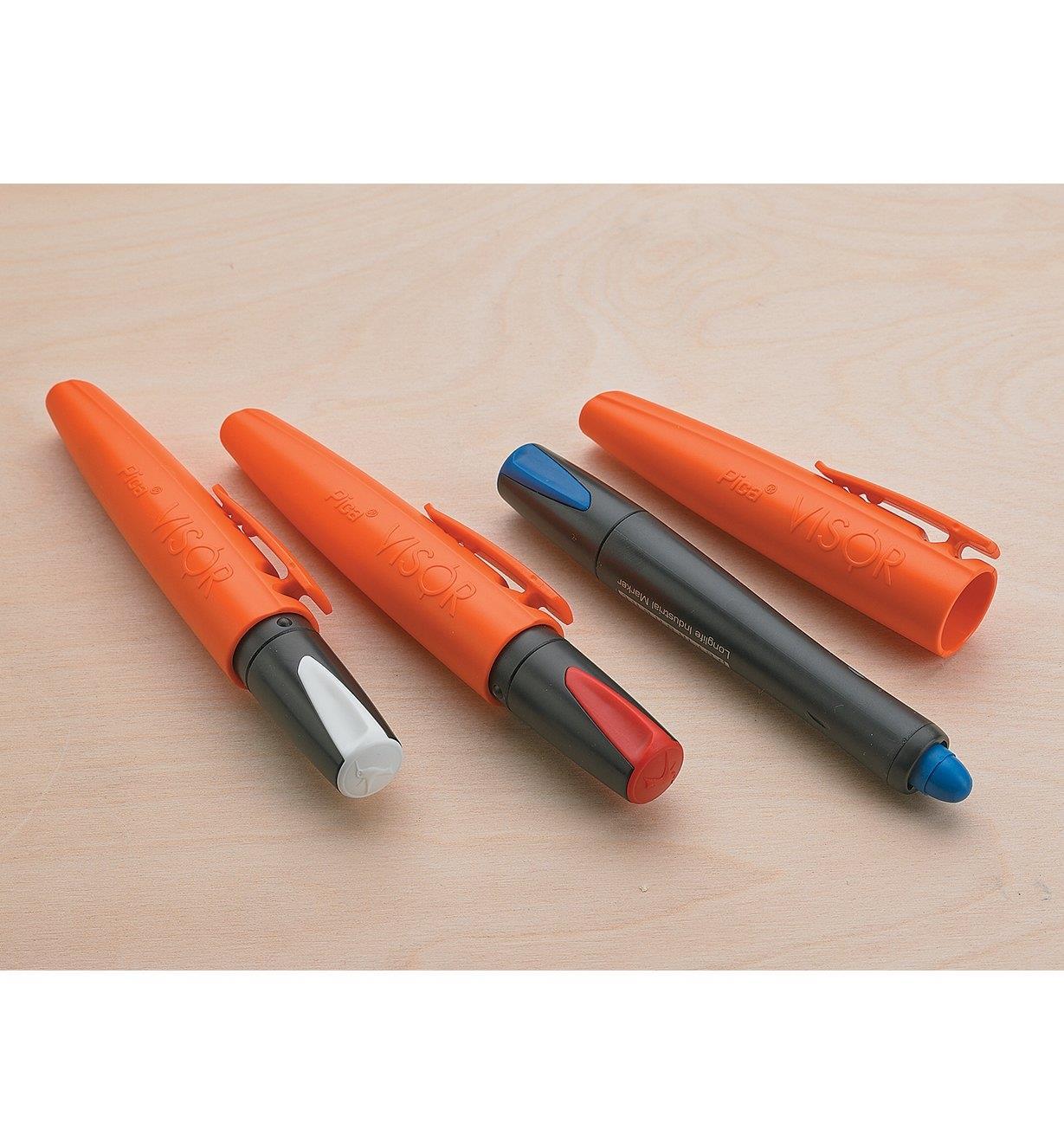 25K0460 - Pica-Visor White Marking Crayon