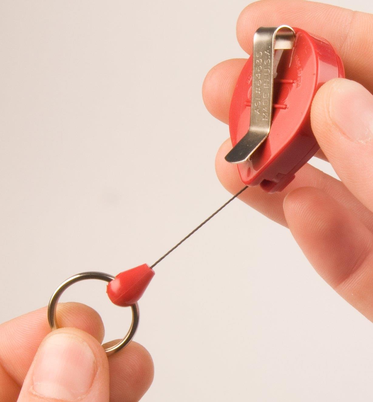45K0723 - Porte-clés enrouleur Mini-Bak