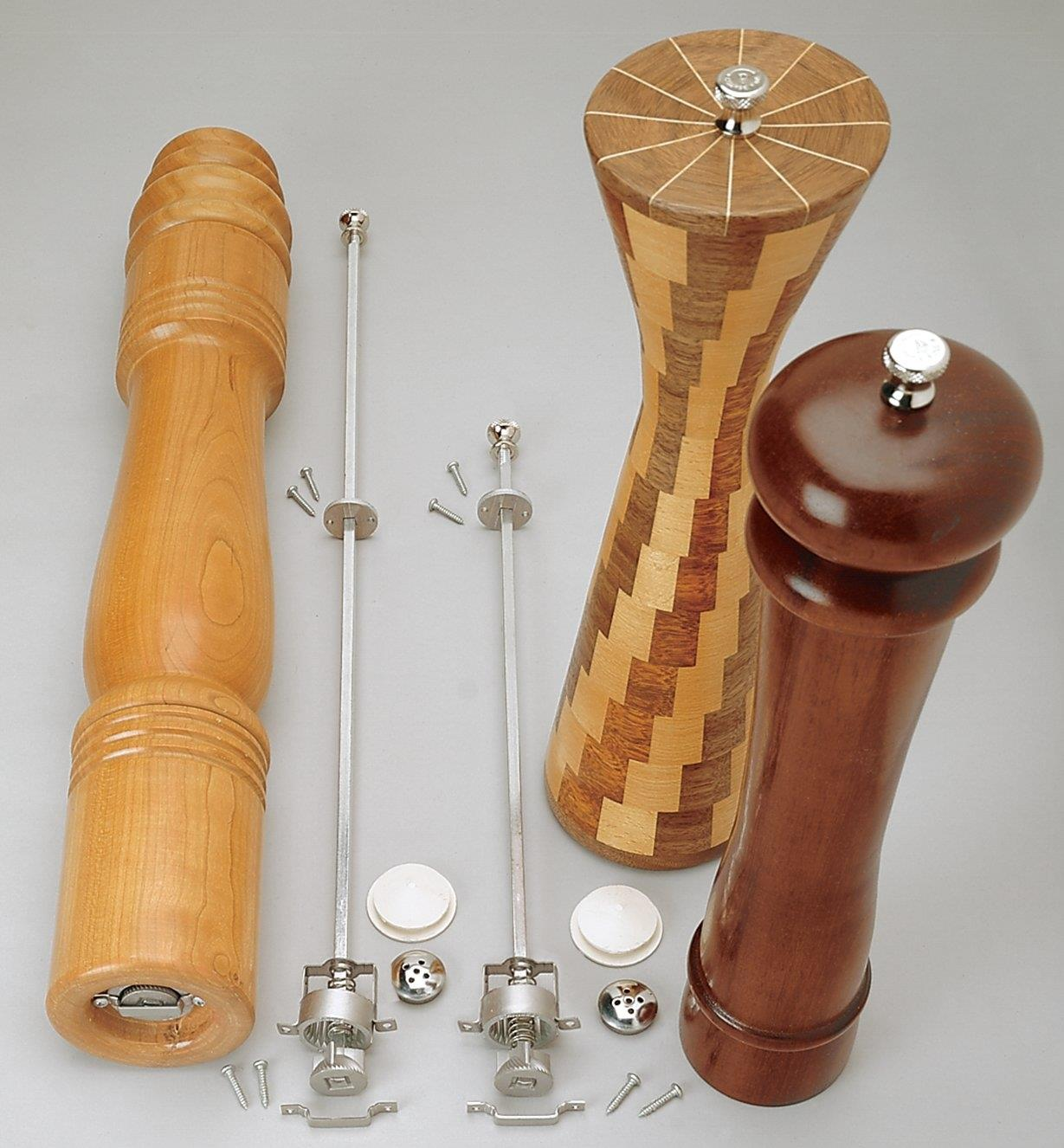Pepper Mill Mechanisms