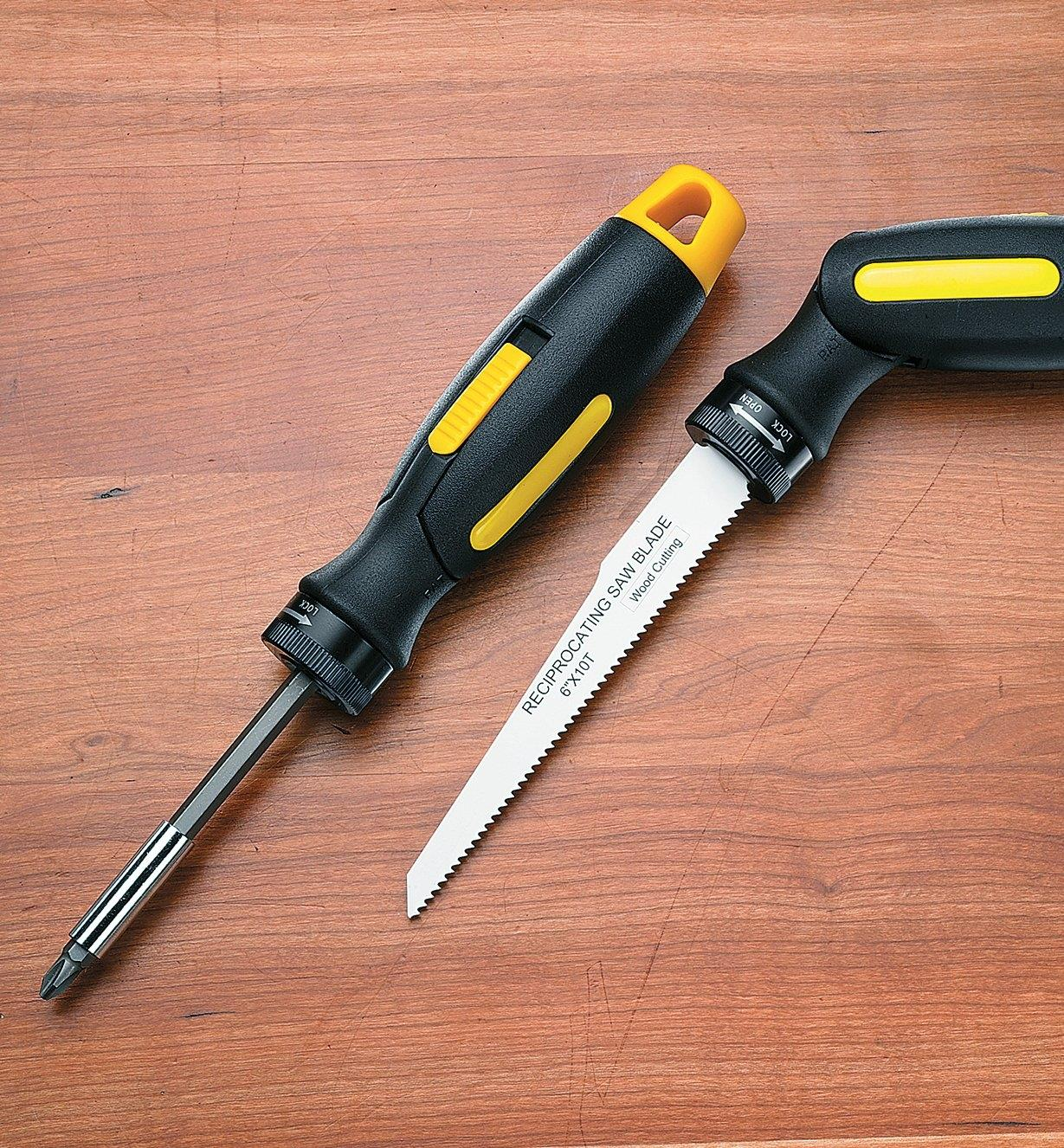 88K1120 - Reciprocating Saw Blade & Screwdriver Handle