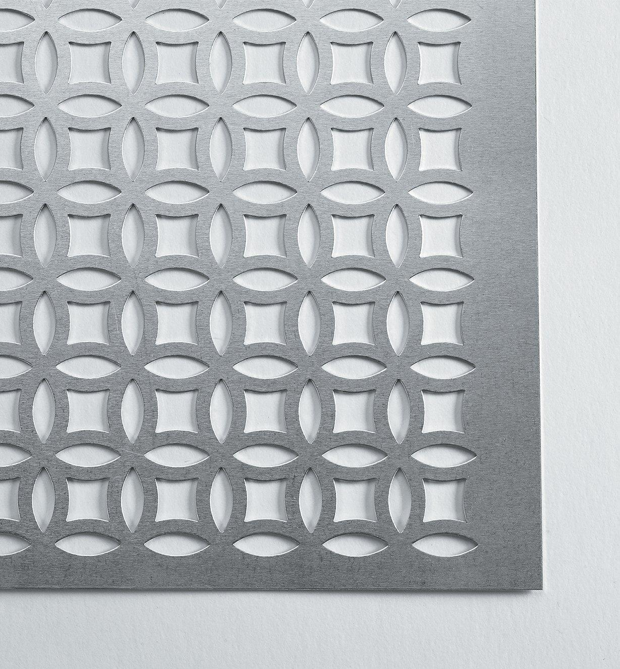 "88K9611 - 24"" x 12"" Aluminum Panel, Elliptical"