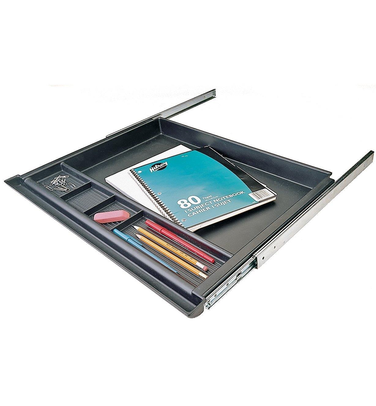 12K6501 - Plateau à crayons coulissant économique