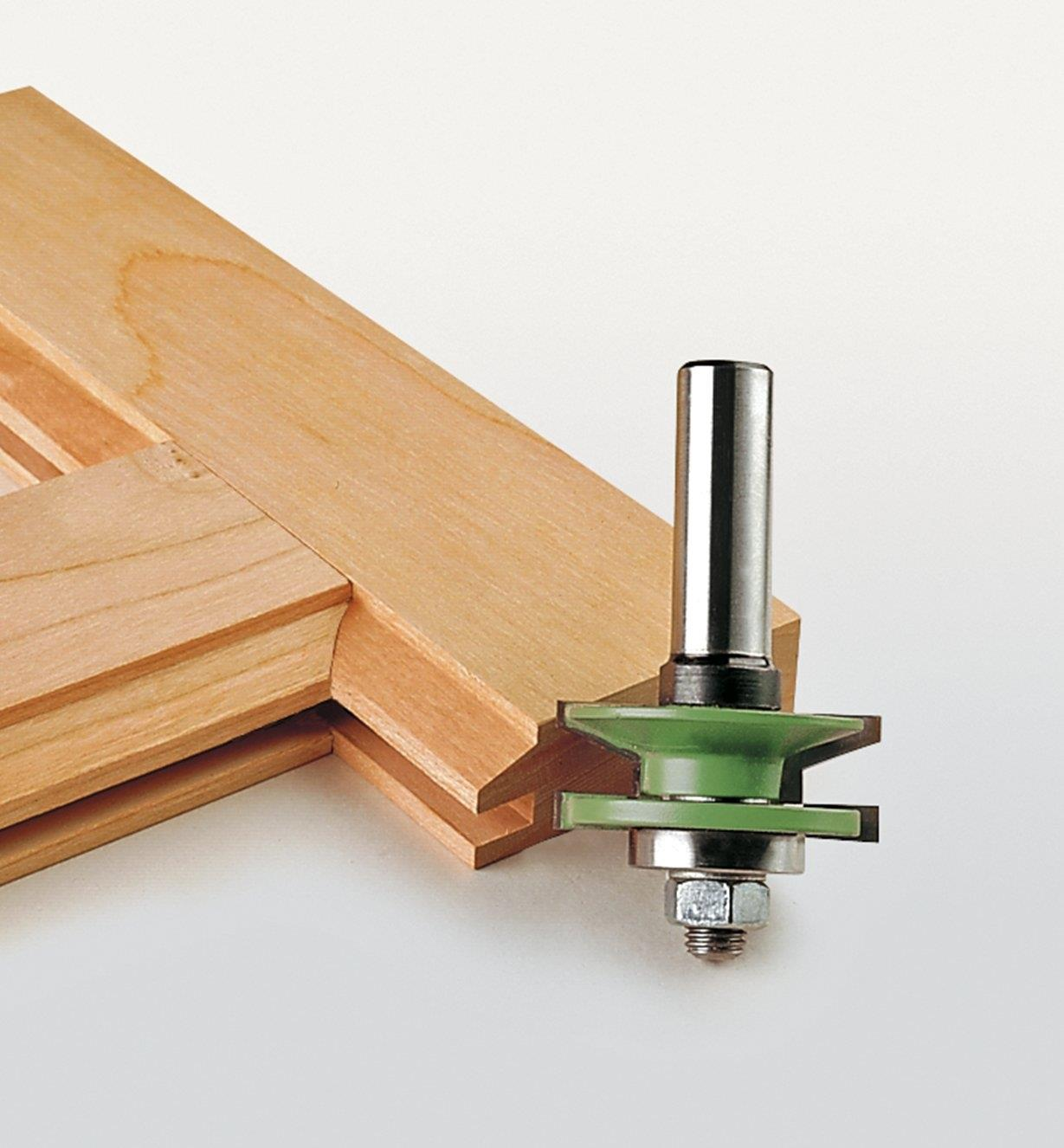 16J6792 - Petite mèche à biseauter pour profil et contre-profil à couteaux interchangeables, 1 5/8 po x 13/16 po