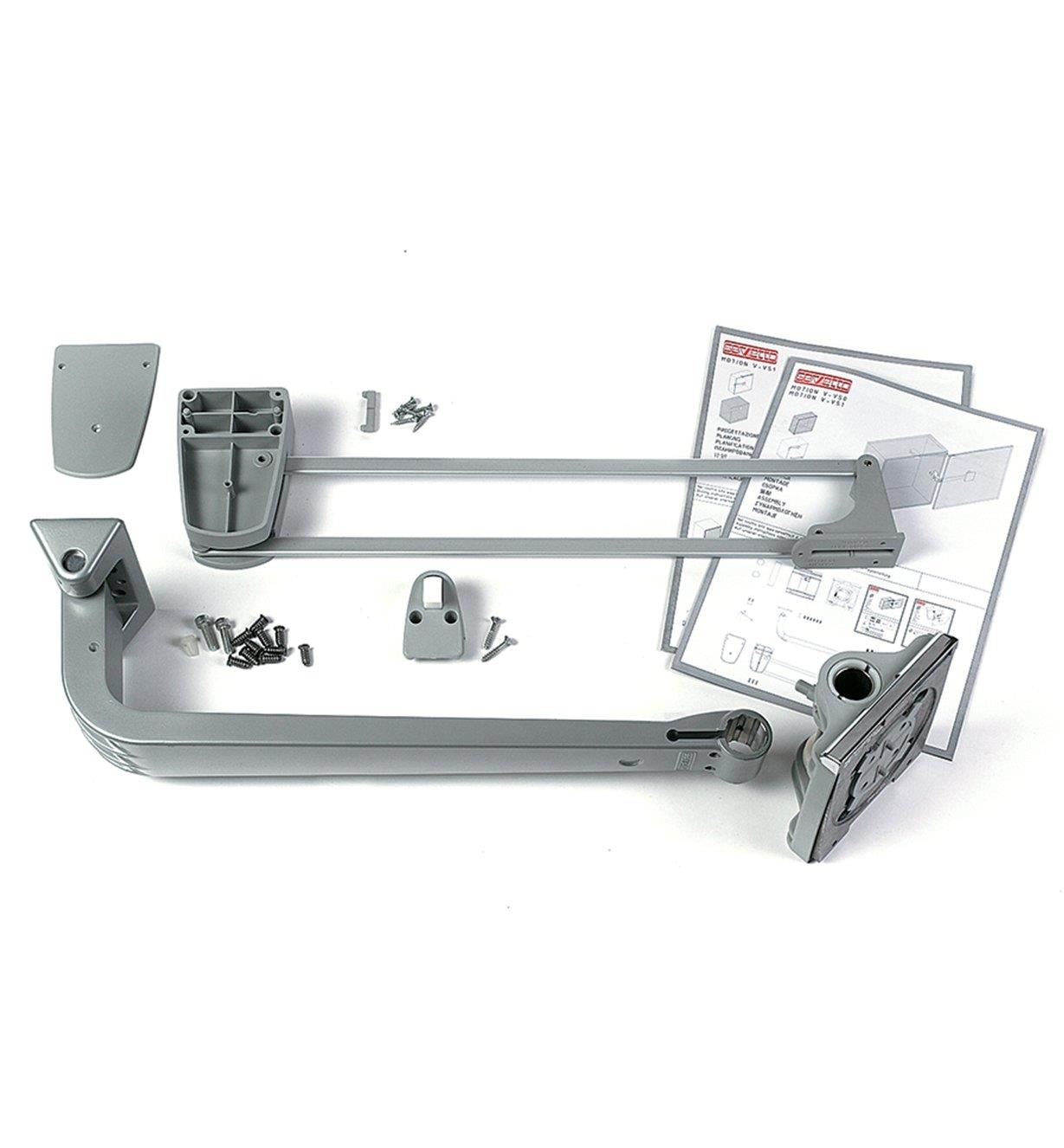 17K1560 - Servetto Closet/Pantry Hinge Kit