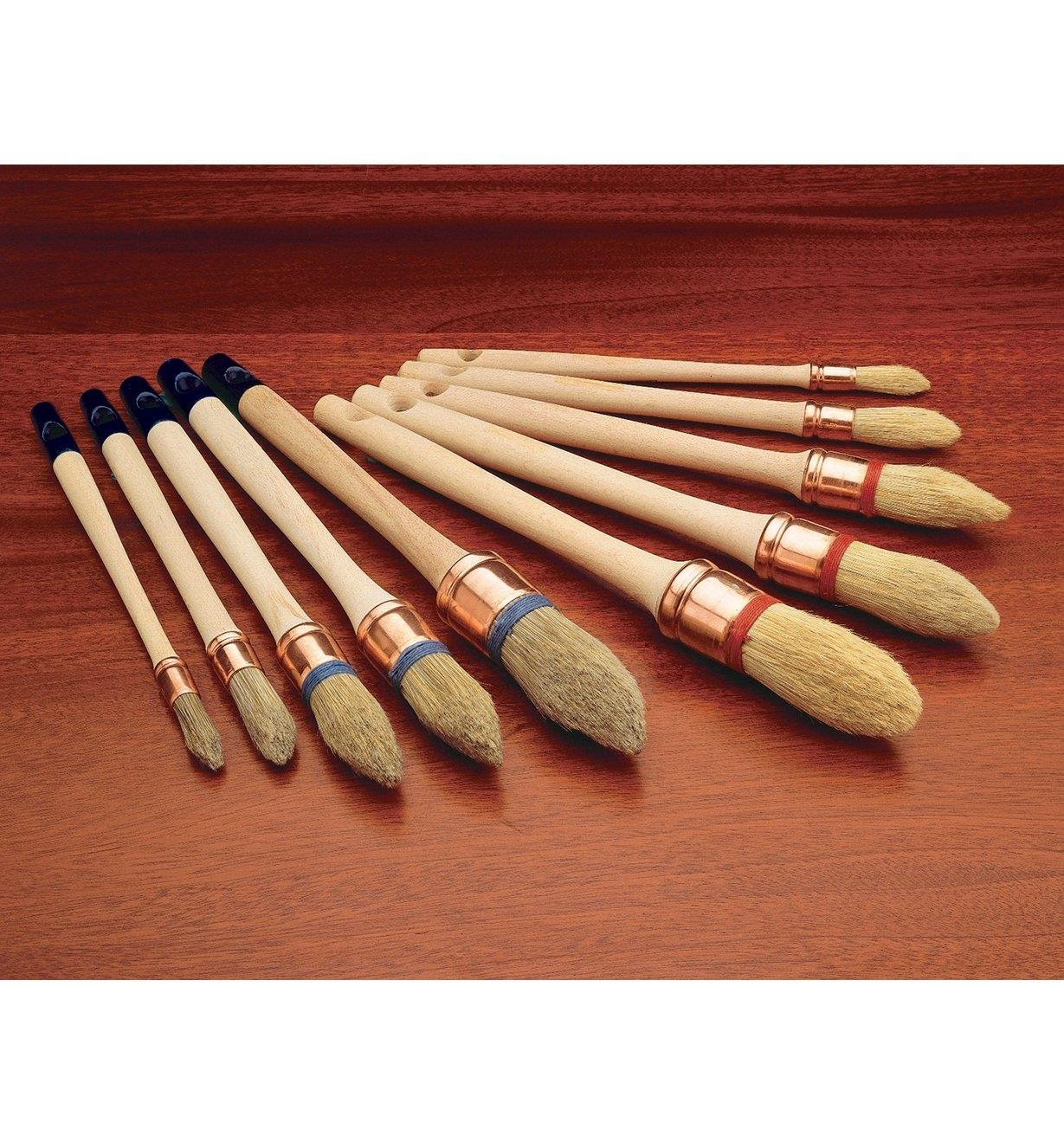 Tapered Round Brushes