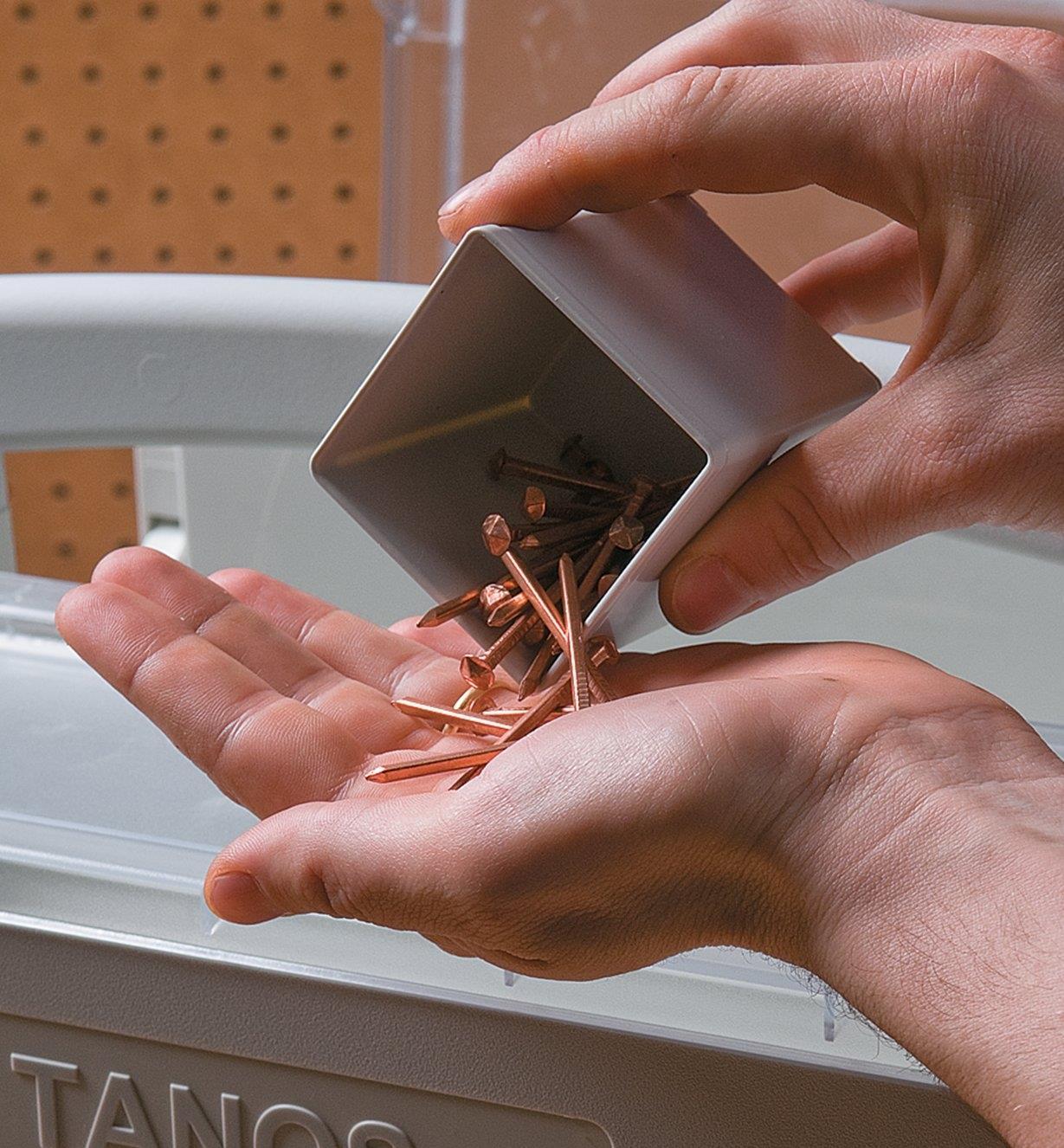 68K4517 - Godet supplémentaire petit format, 59mmx59mm (25/16pox 25/16po) pour coffret de rangement Systainer