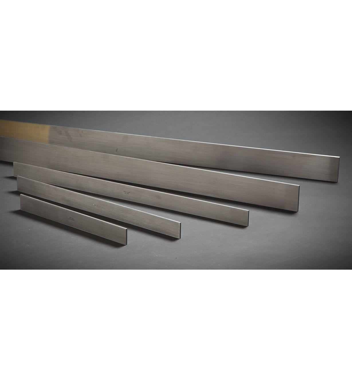 Règles rectifiées de précision en acier Starrett