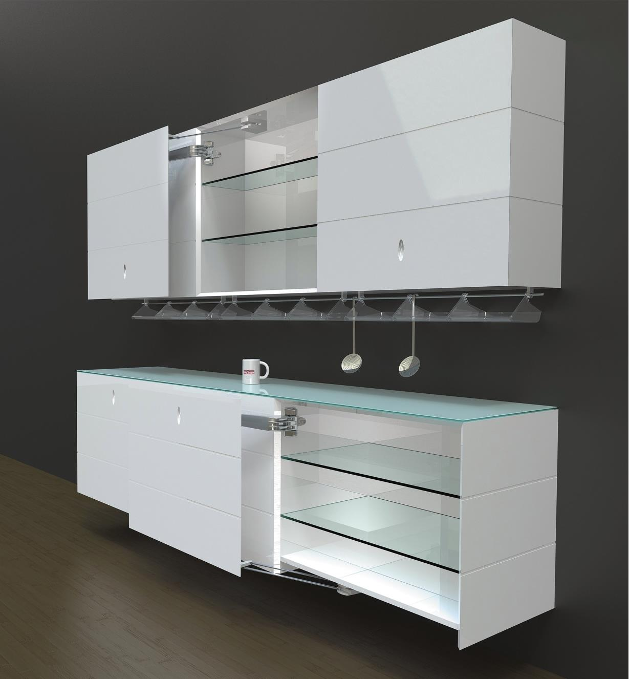 Servetto Galley Door Mechanisms