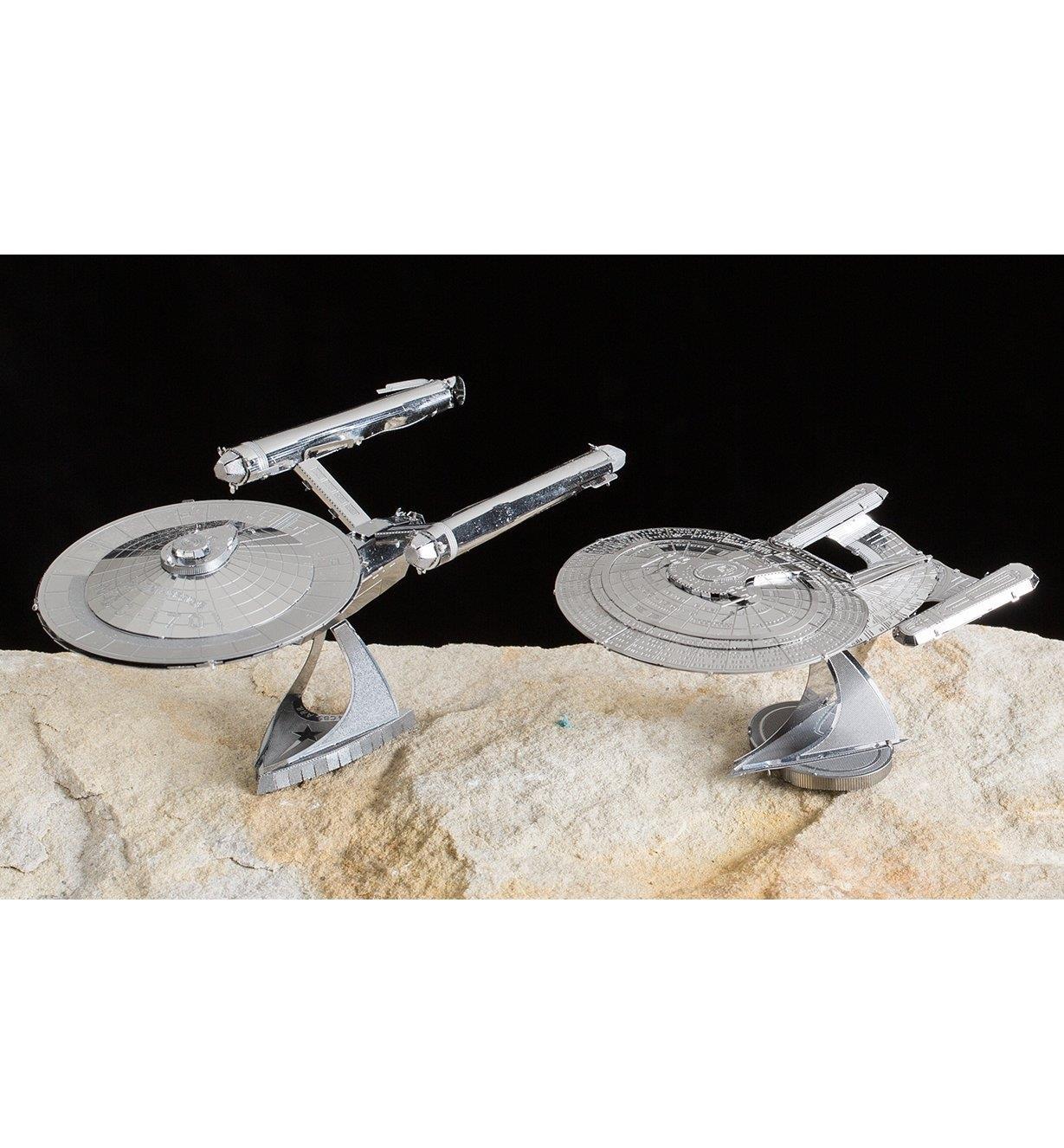 Star Trek Metal Model Kits
