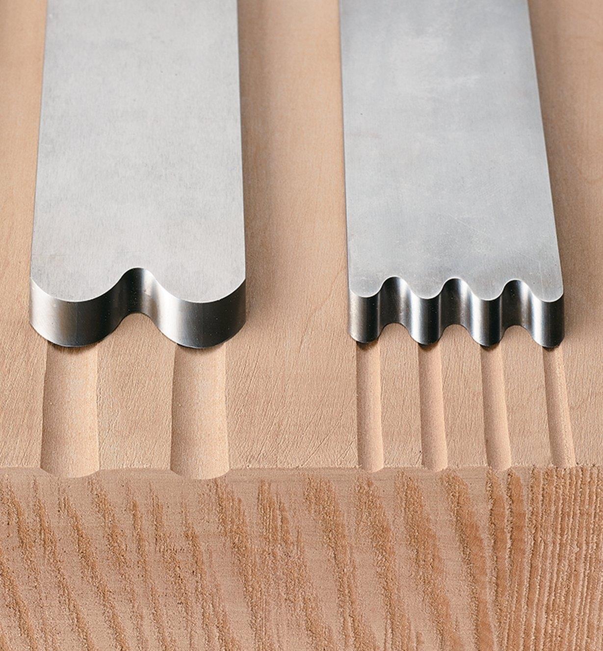 Texturing Blades for Veritas Scrub Plane