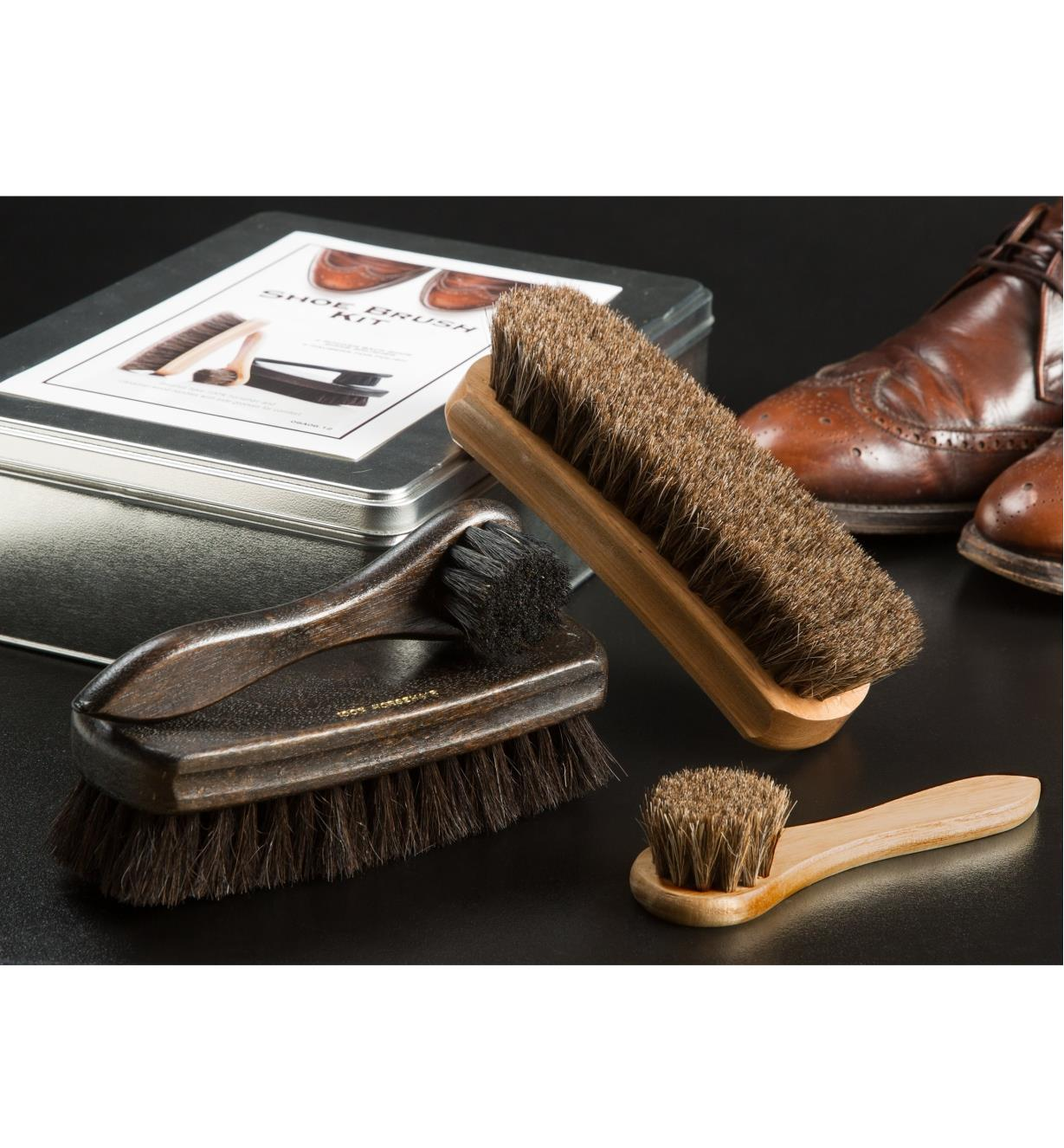 HB130 - Shoe Brush, set of 4