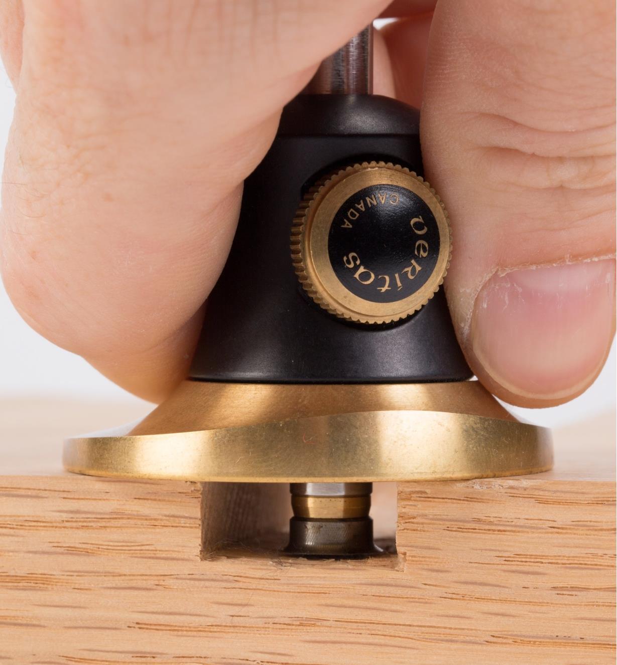05N3631 - Trusquin à roulette micrométrique Veritas