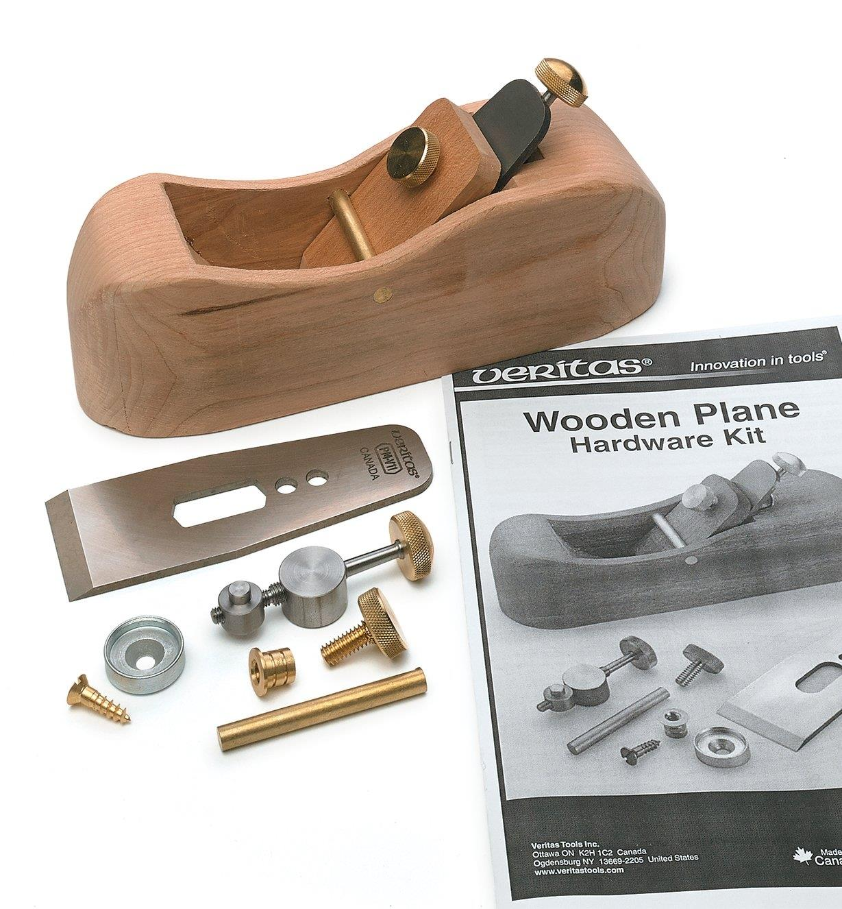 Veritas Wooden Plane Hardware Kit