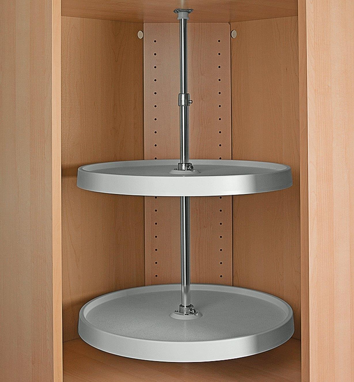 12K7218 - Upper Cabinet Revolving Shelf Set