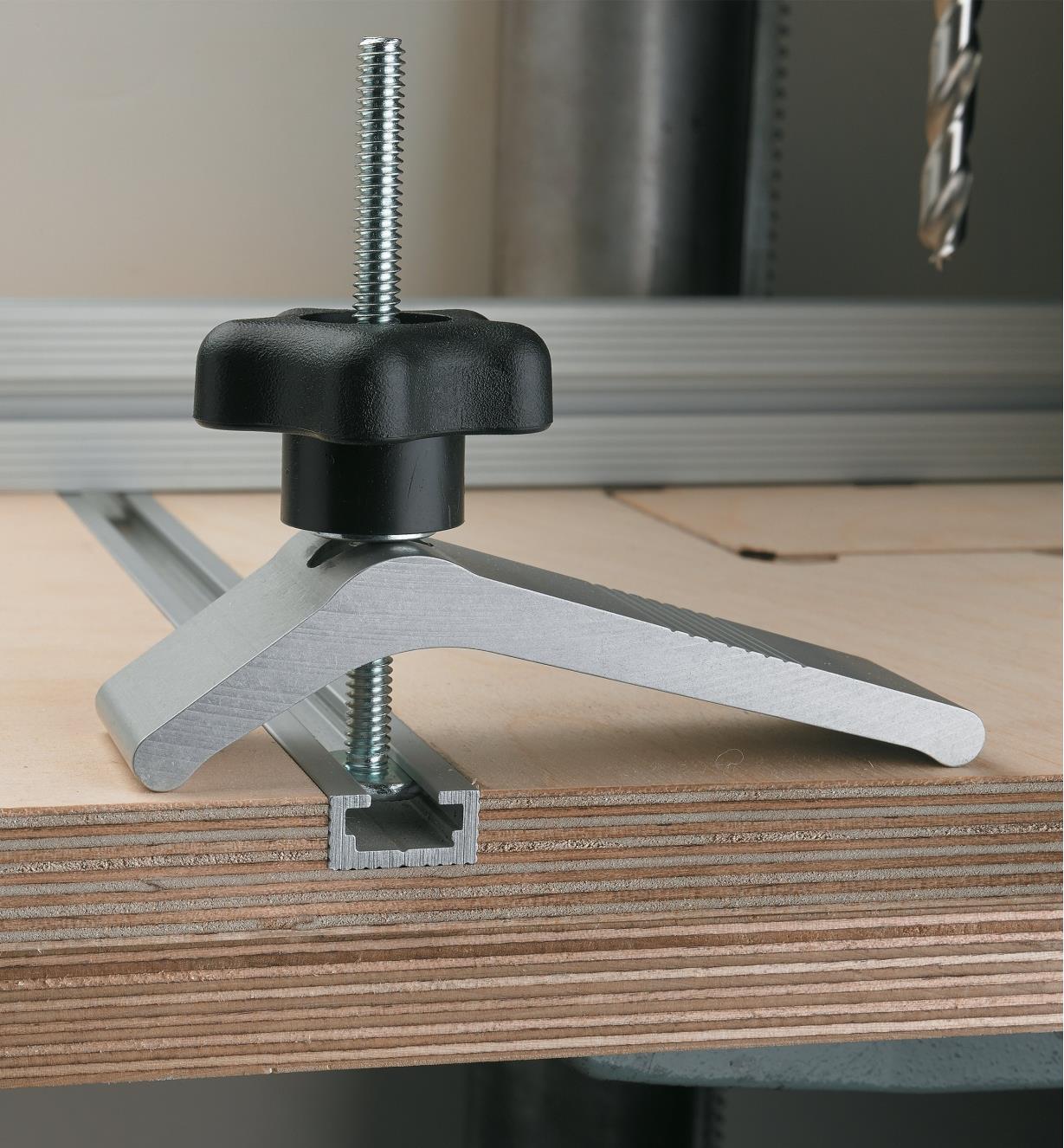 T slot rails for jigs