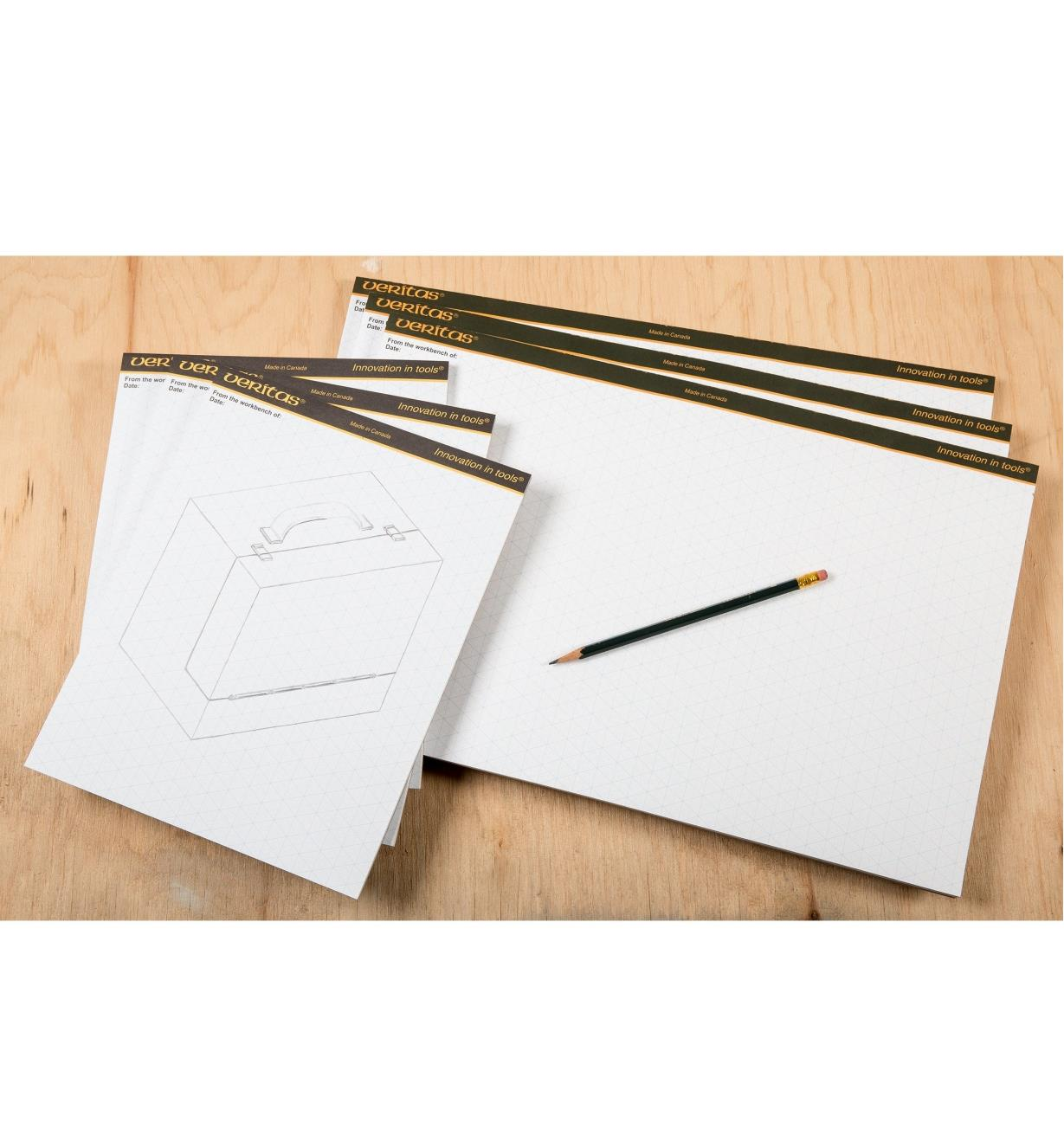 Veritas Isometric Drawing Pads