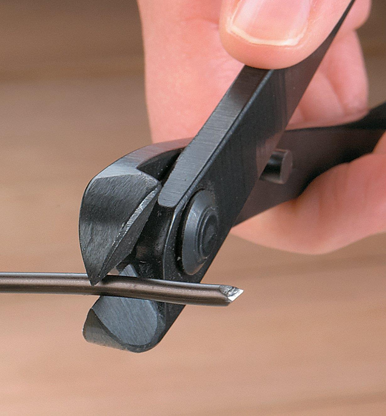 Cutting wire with bonsai wire cutter