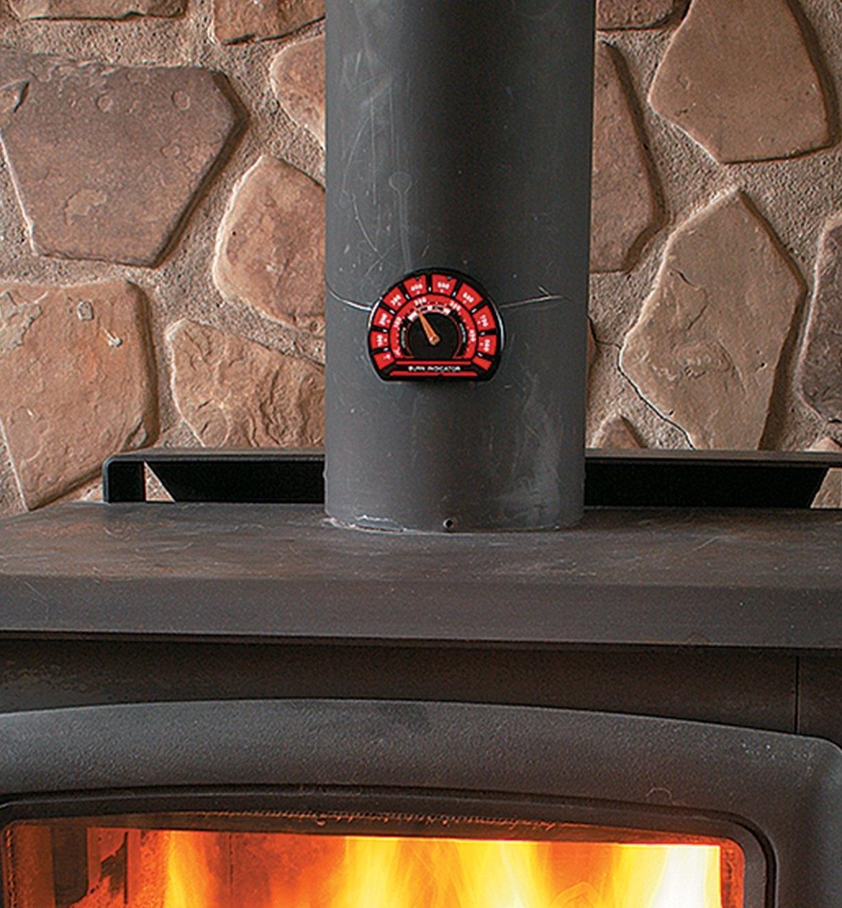 WS701 - Thermomètre pour poêle à bois