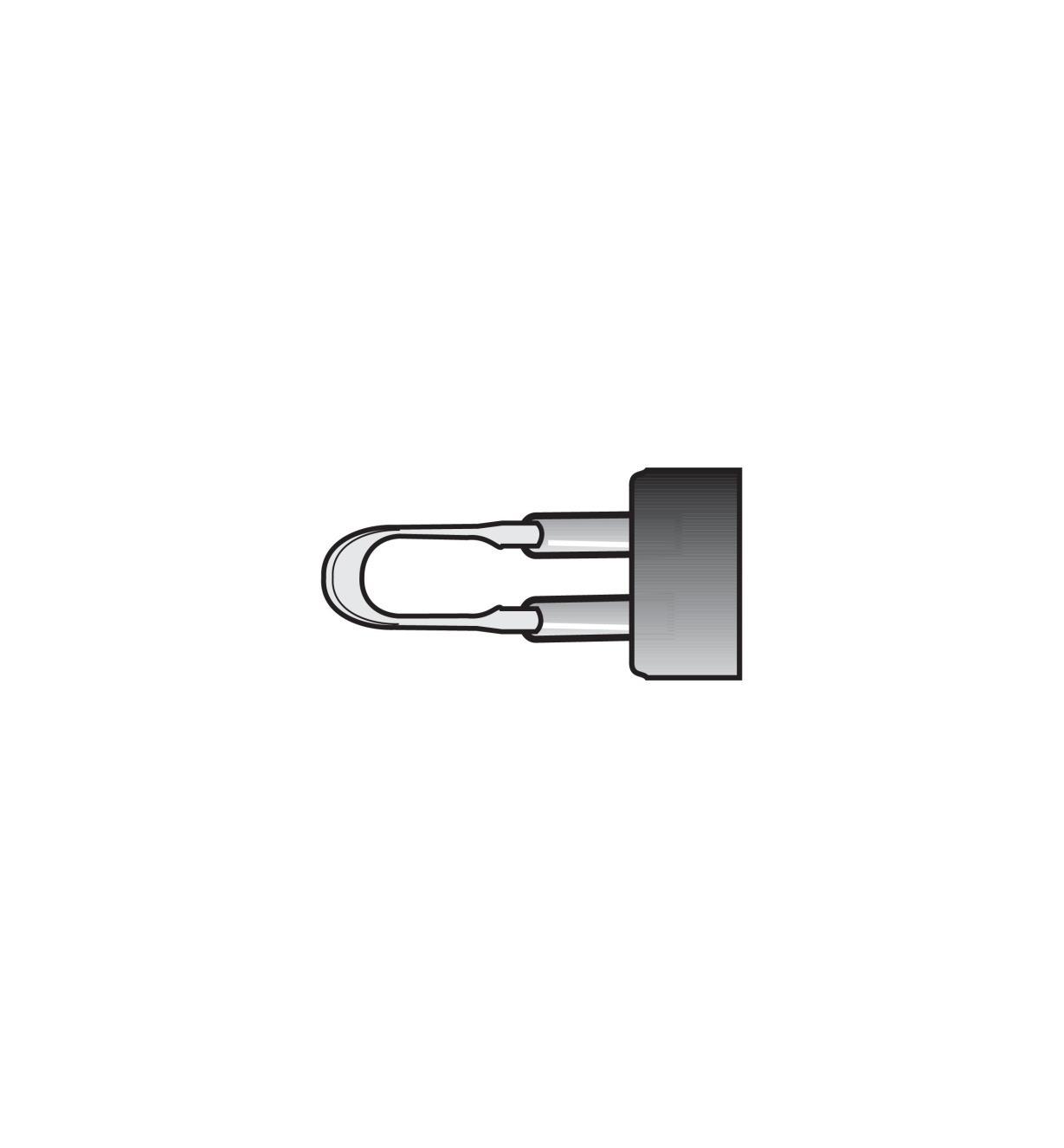 38N3602 - #F18L Handpiece