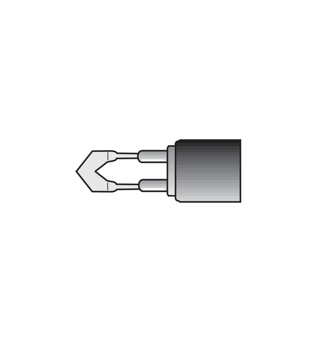 38N3703 - #16L Heavy-Duty Handpiece